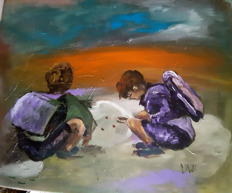 50 x 60 Acryl-Gemälde von Lieselotte Winkelmann