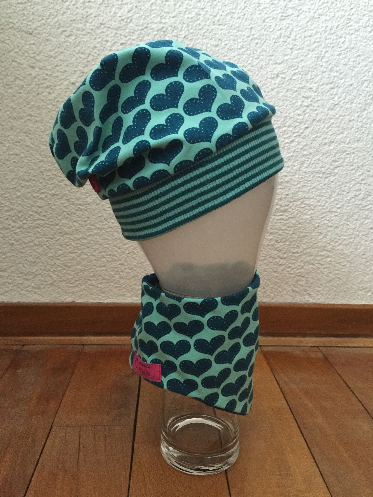 Beanie Mütze No.1, Gr. 48  passendes Halstuch separat erhältlich