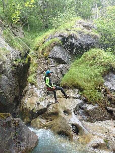 Canyon du Saugué inférieur