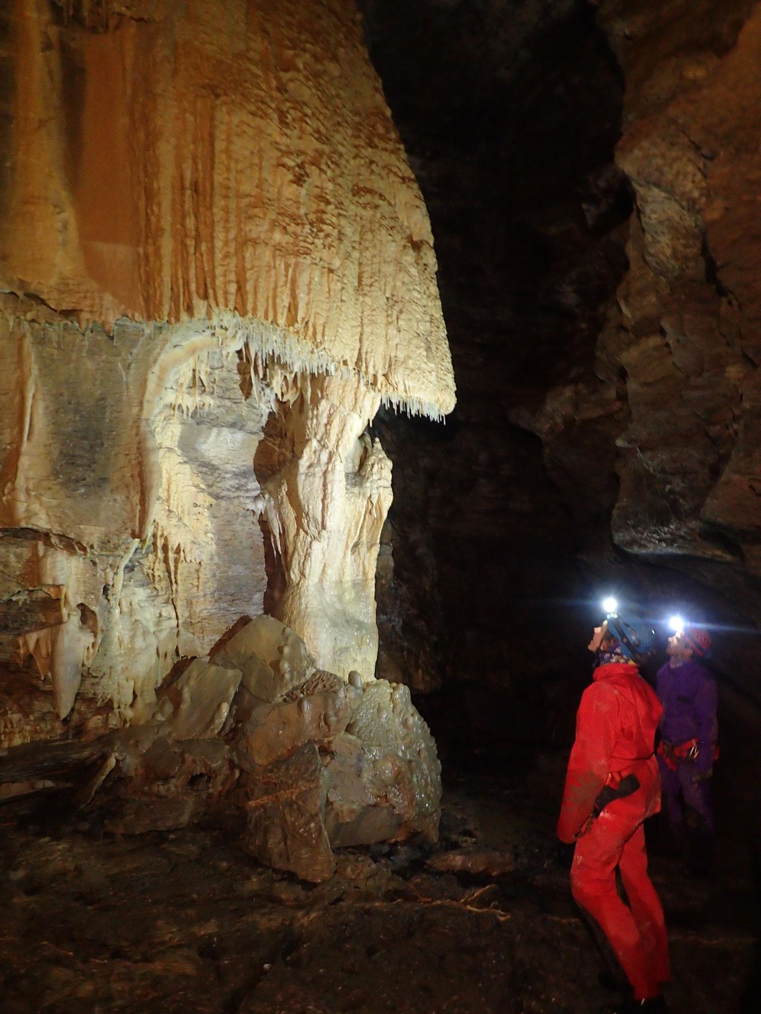 La méduse grotte des Eaux Chaudes
