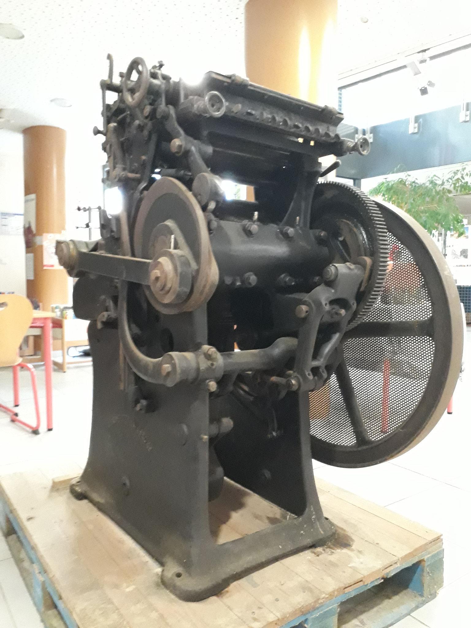 Des démonstrations sur machines à imprimer du XIXe