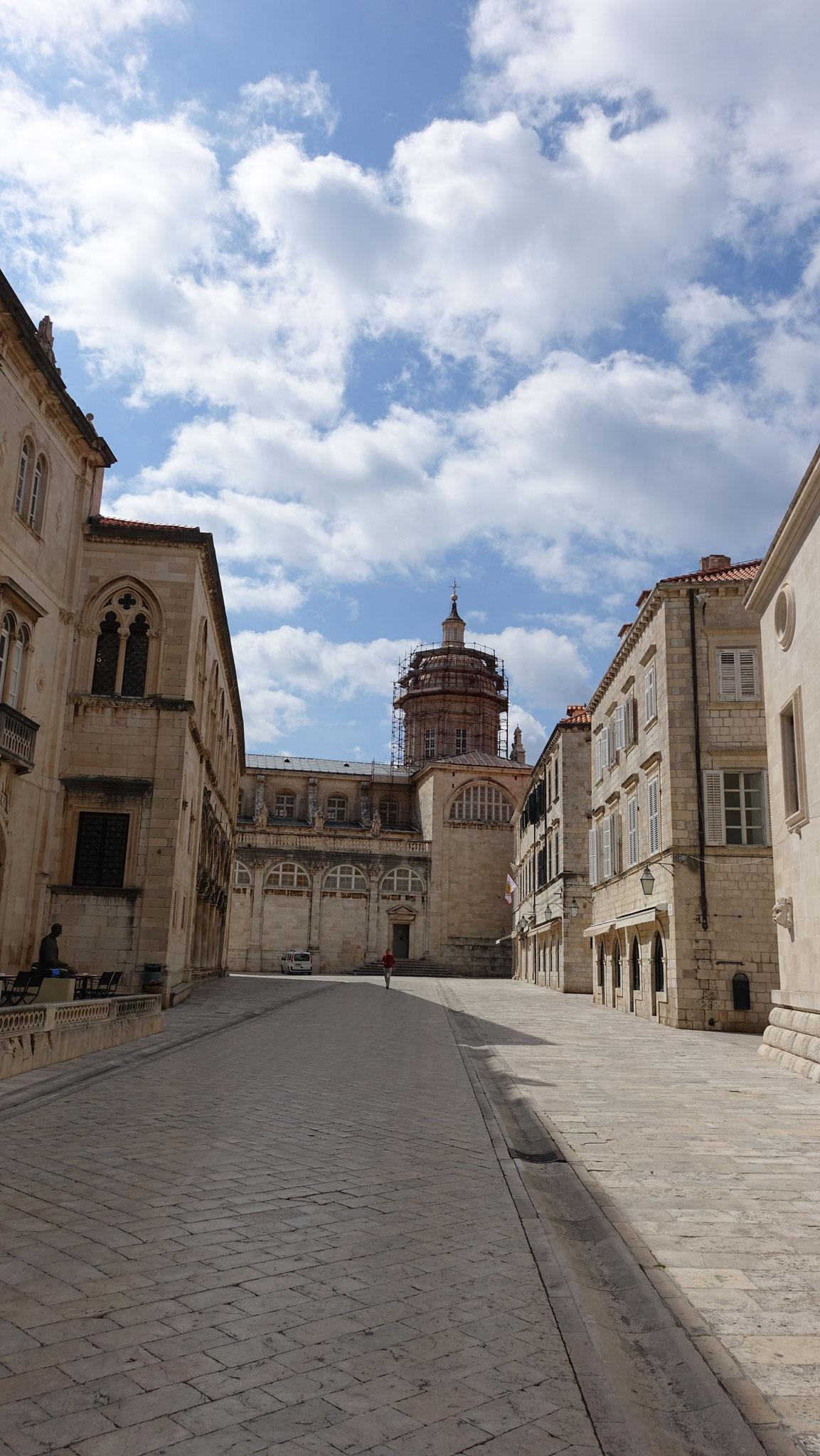 Dubrovnik fast menschenleer