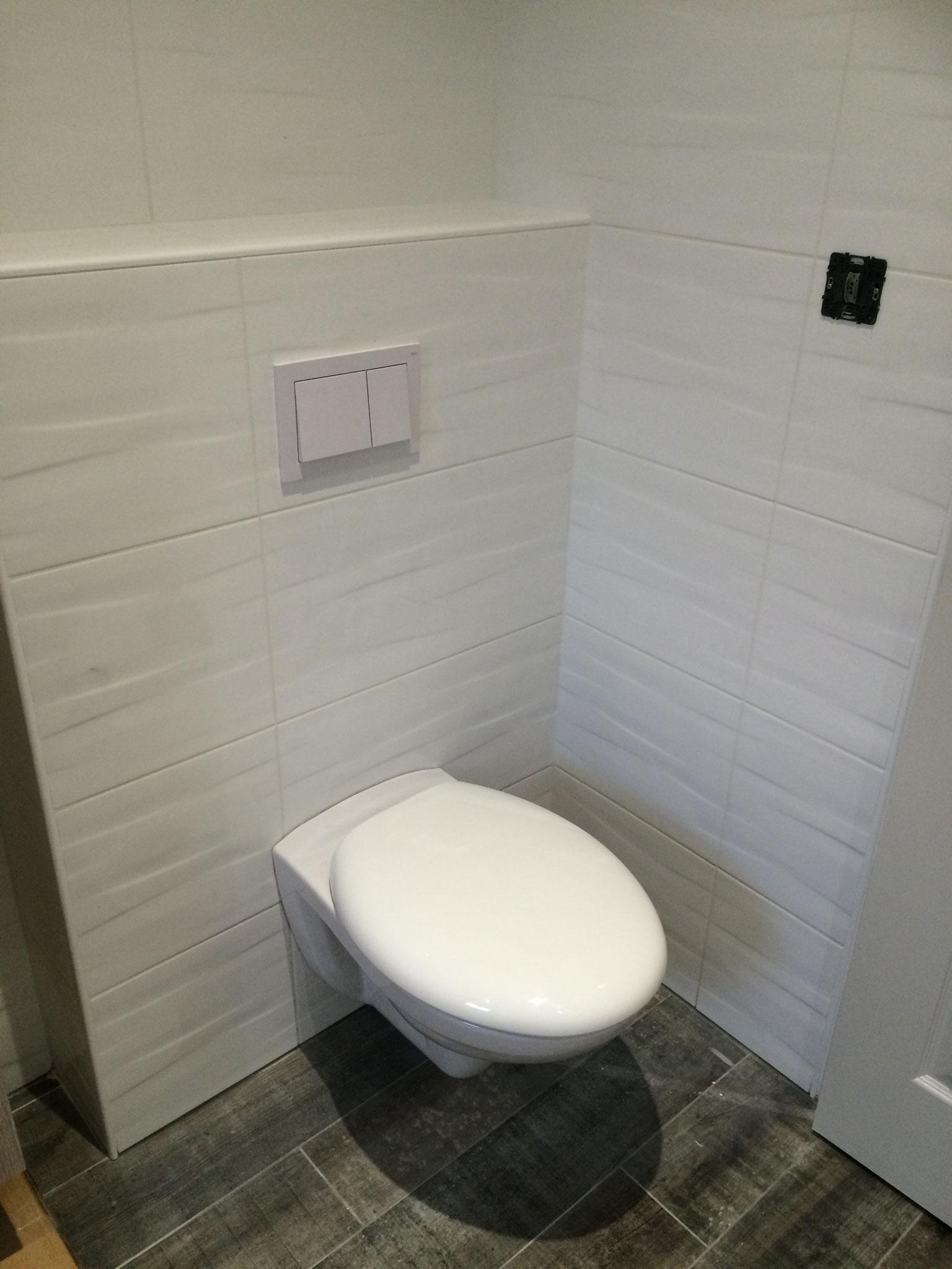 Installation de sanitaires