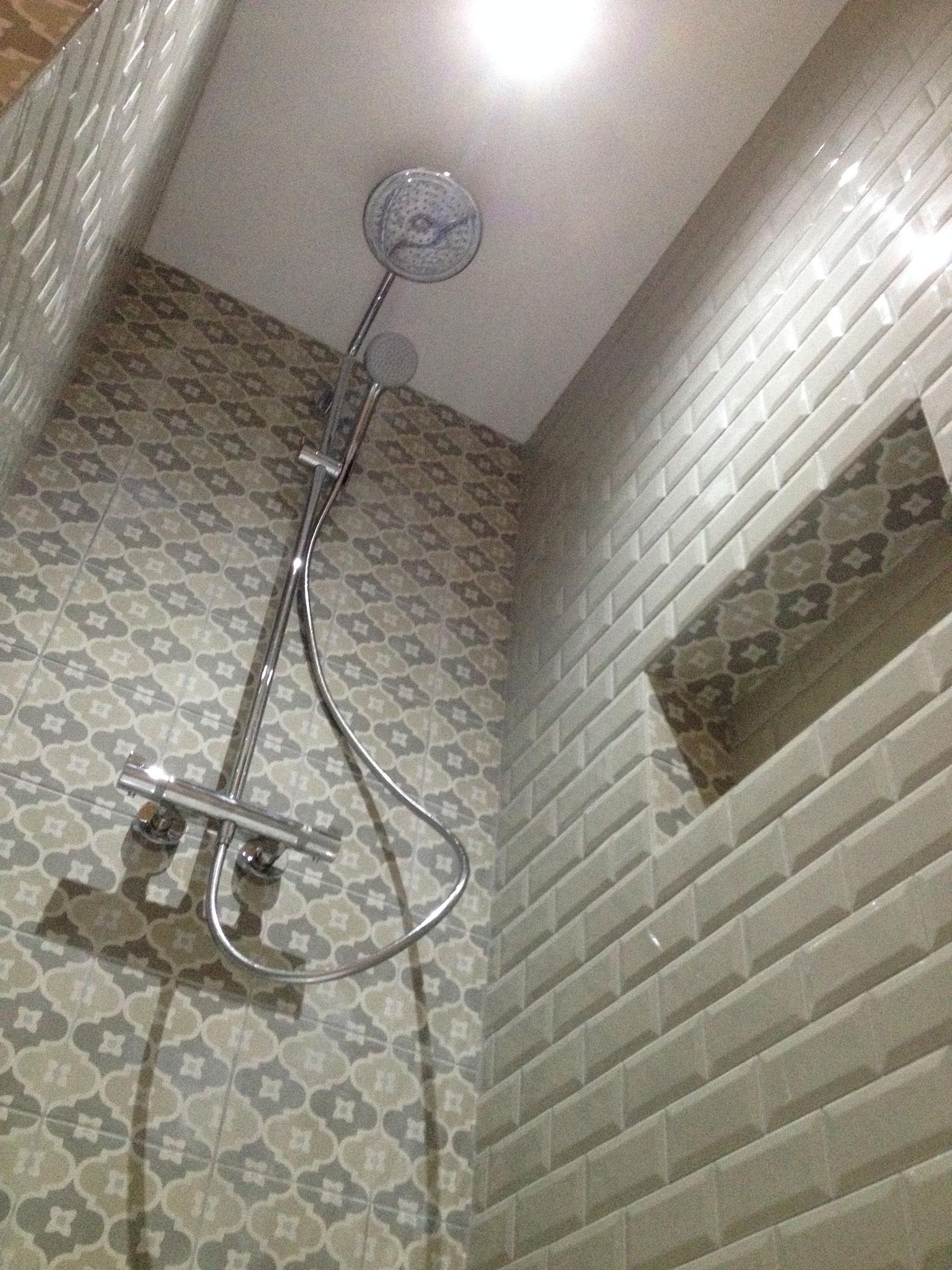 Travaux de salle de bain
