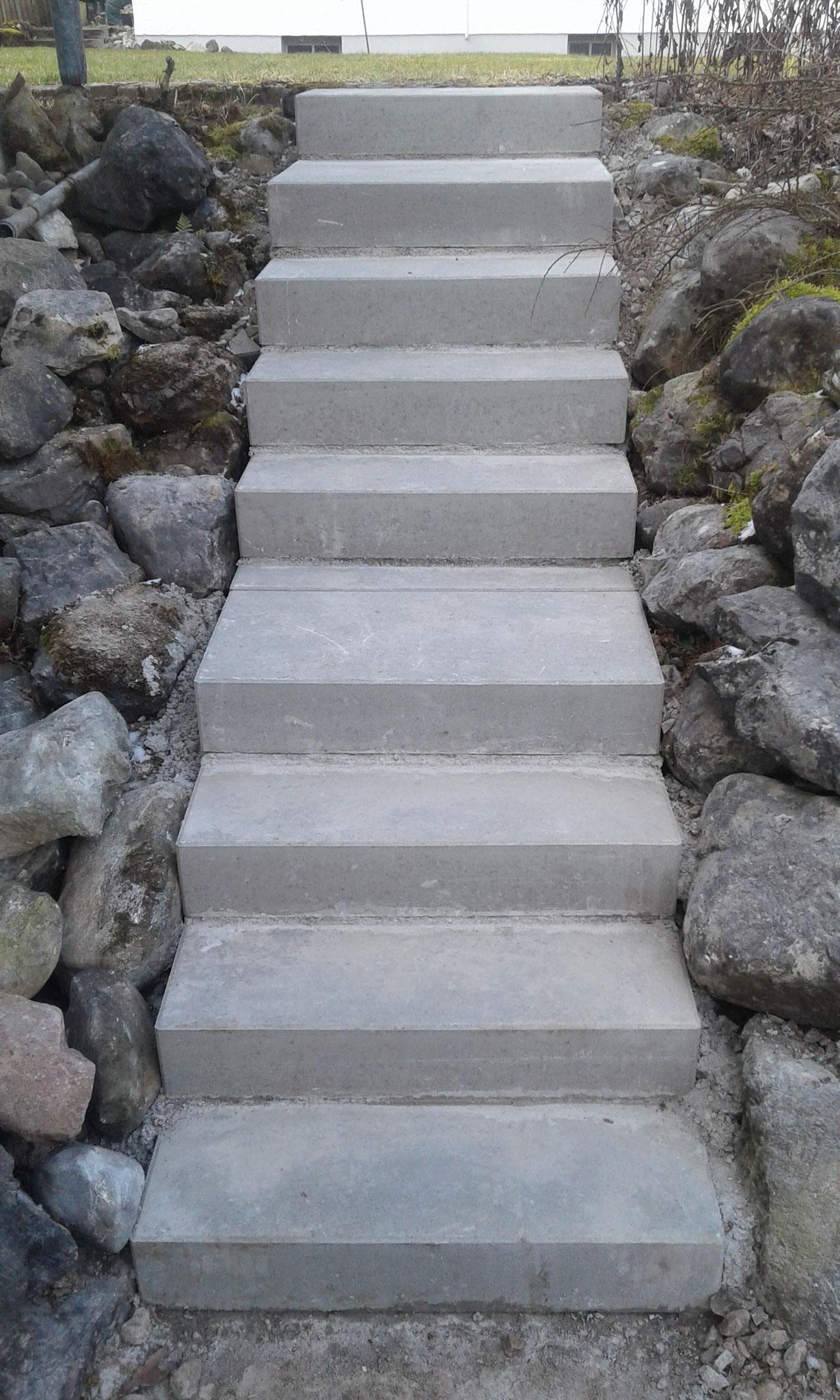 Treppenerneuerung in Wangen - NACHHER