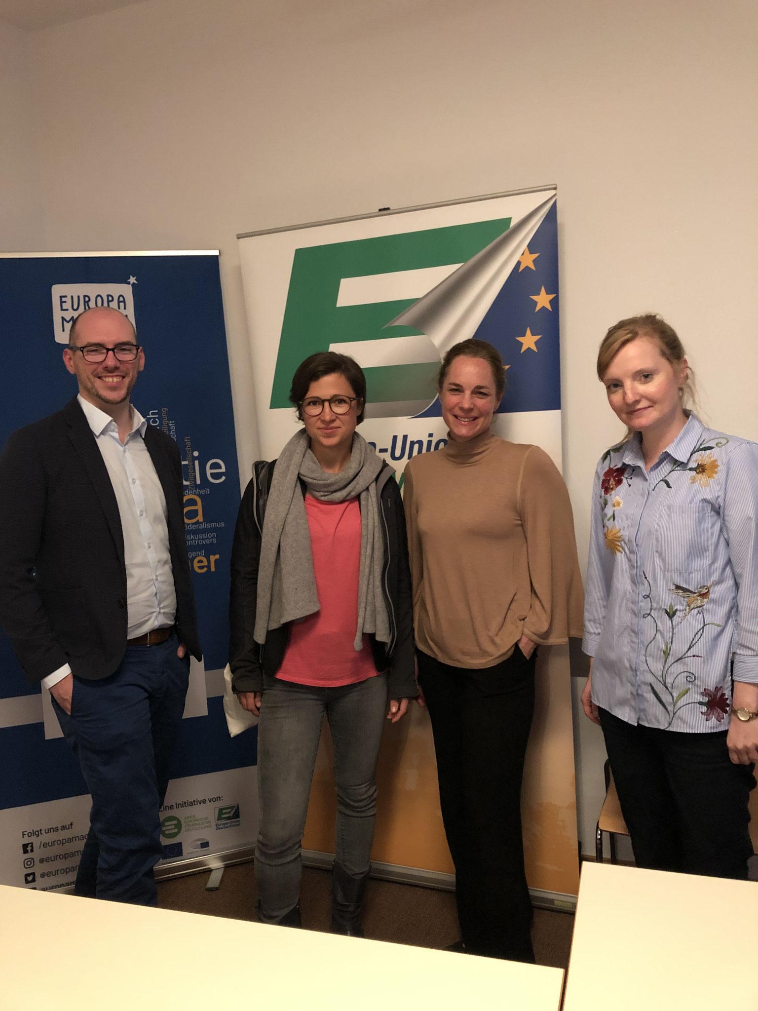 Europawahl 2019 mit Hannah Neumann und Hildegard Bentele