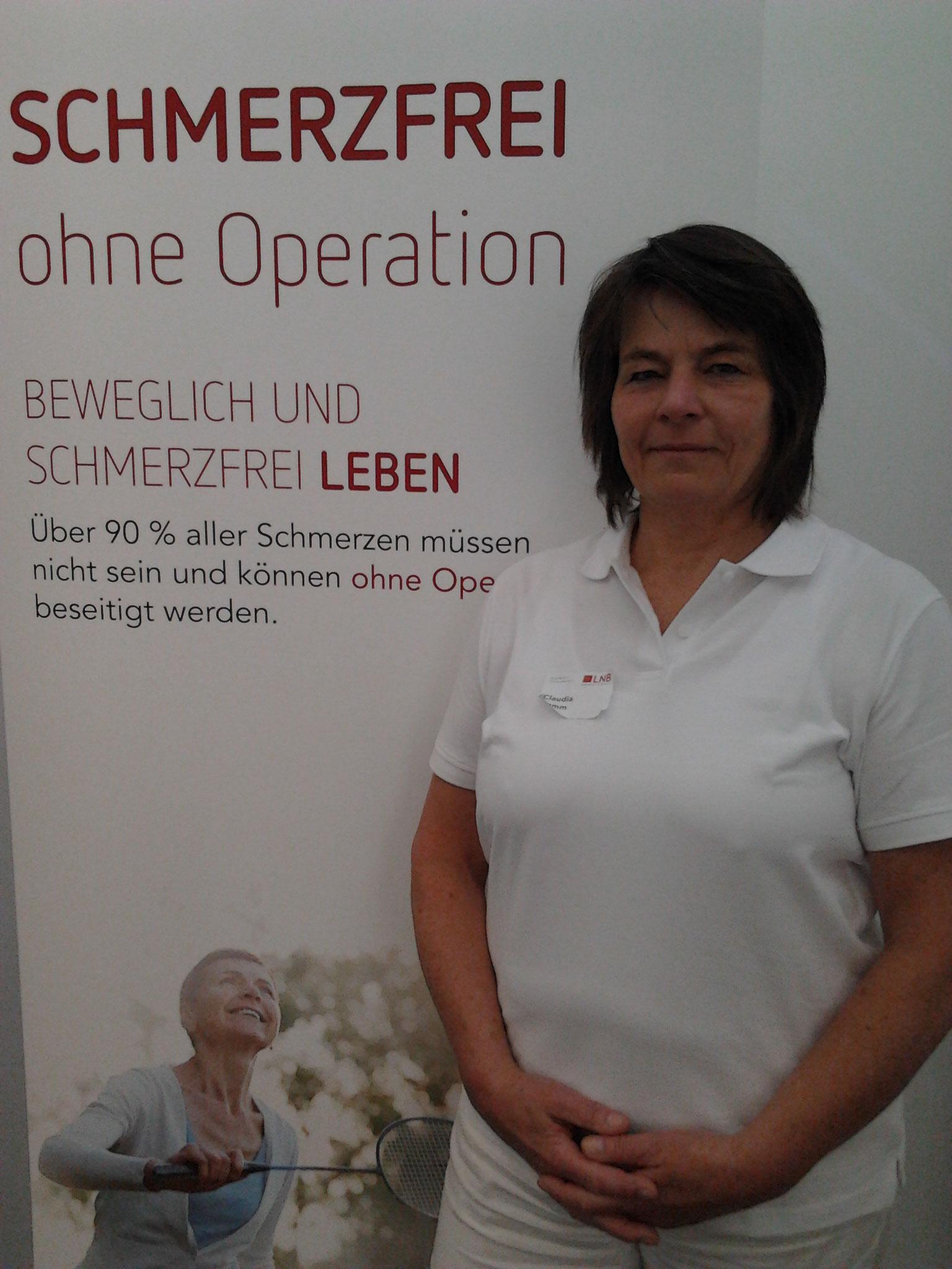 Assistenz in der Schmerztherapie-Ausbildung  bei Liebscher&Bracht, 2016+2017