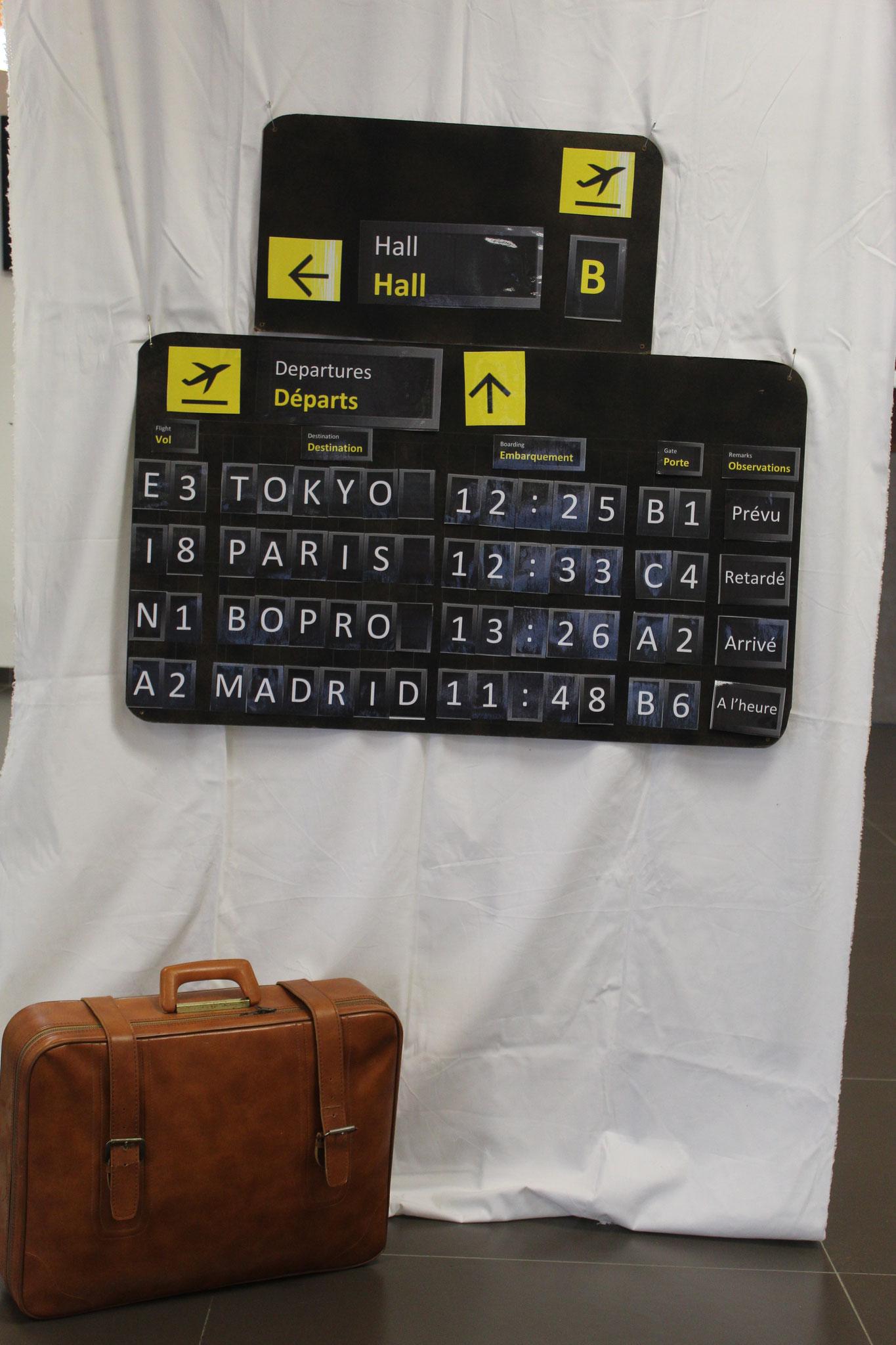 Hall d'aéroport