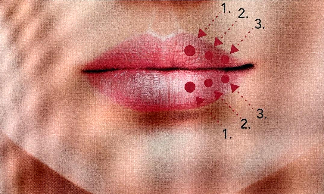 2 Repulper les lèvres