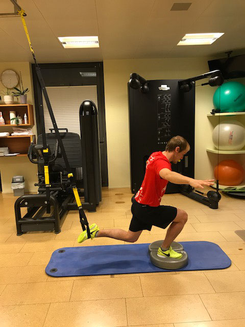 TRX Training nach VKB Verletzung