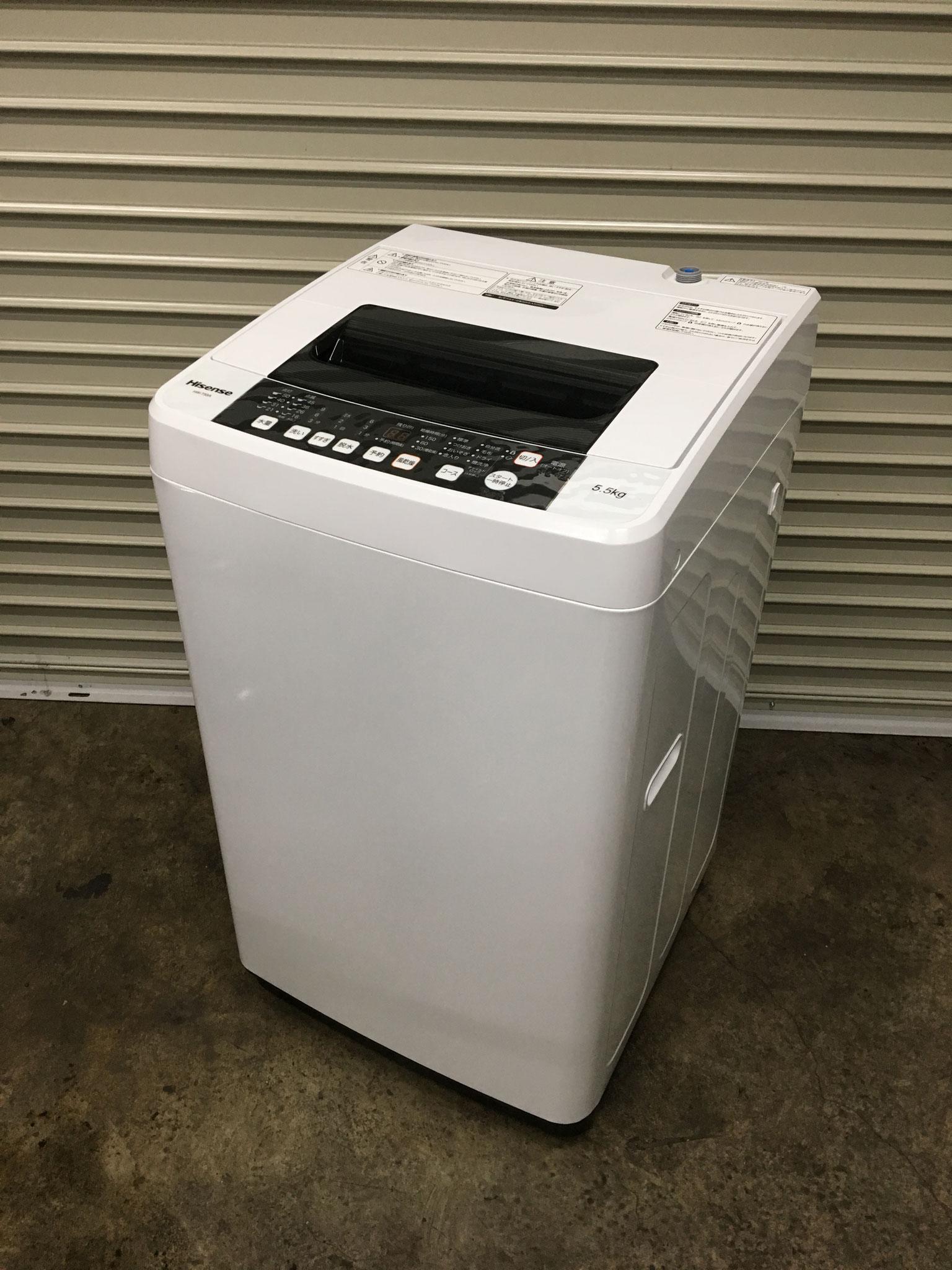 2017年製5.5㎏札幌洗濯機買取7000円