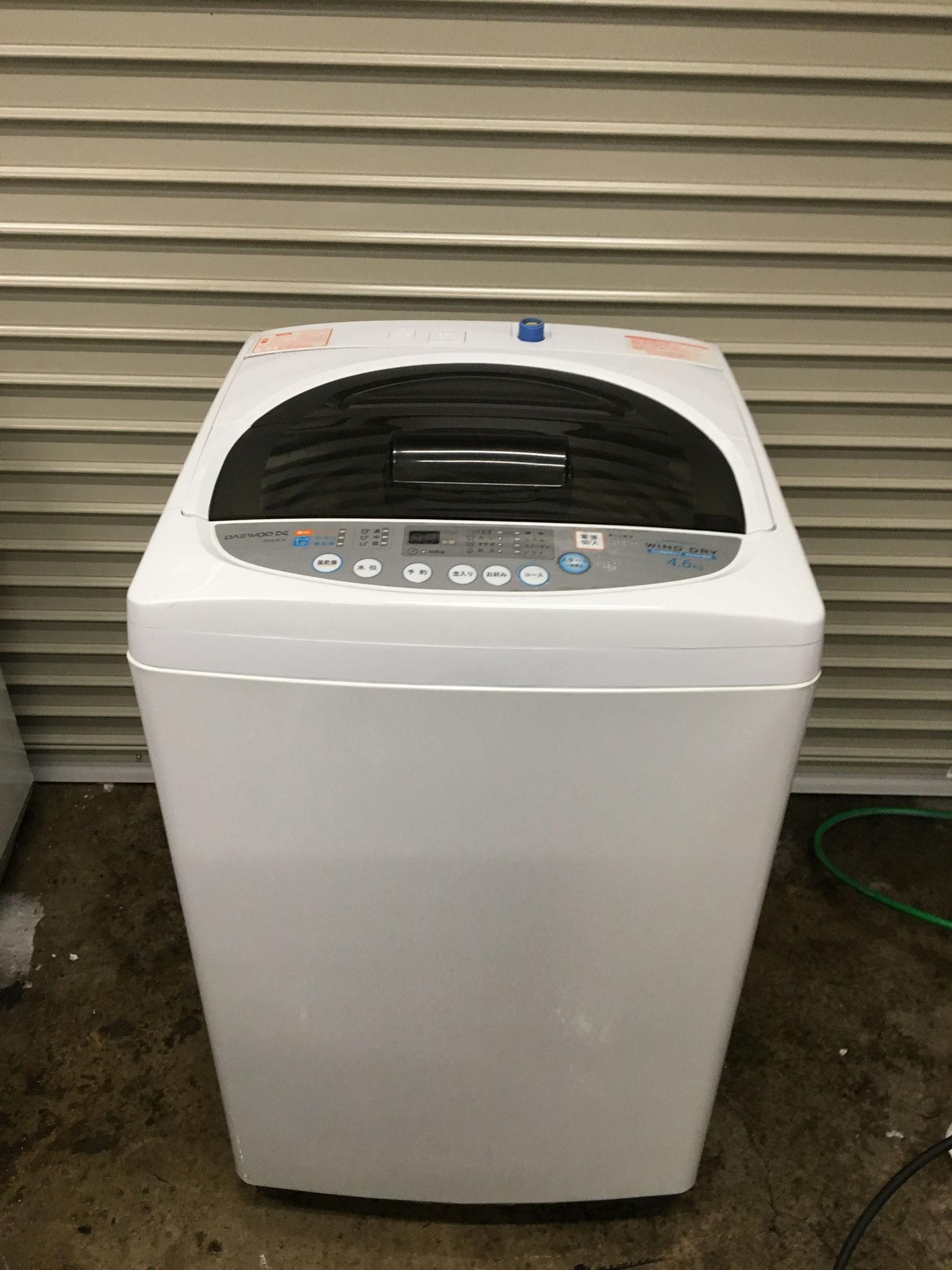 2012年製4.6㎏札幌洗濯機買取1500円