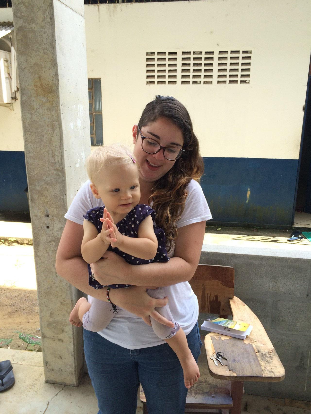 Laura aus Costa Rica mit Simea
