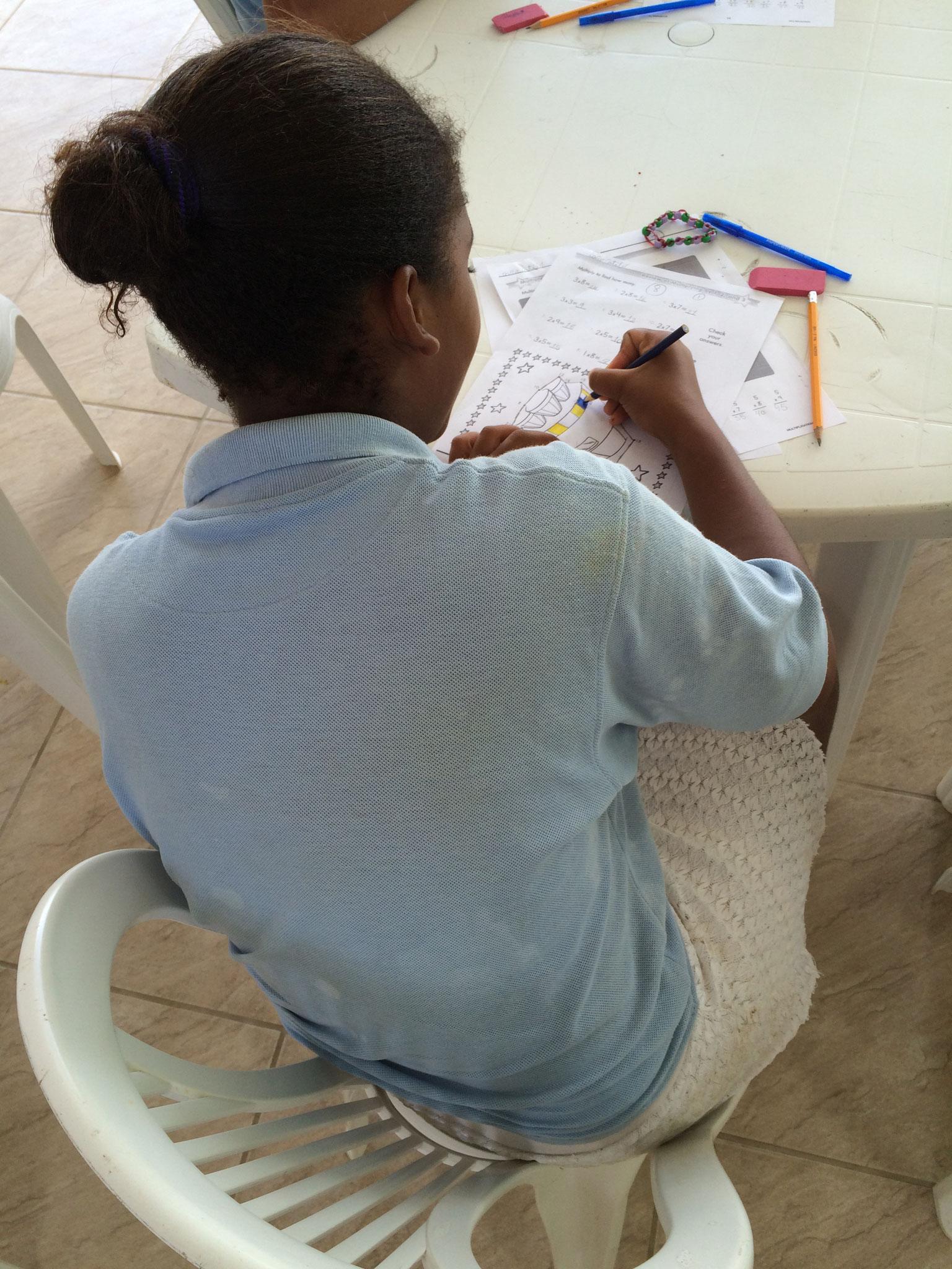 Projeto Esters: Zuerst Math, danach malen... :-)