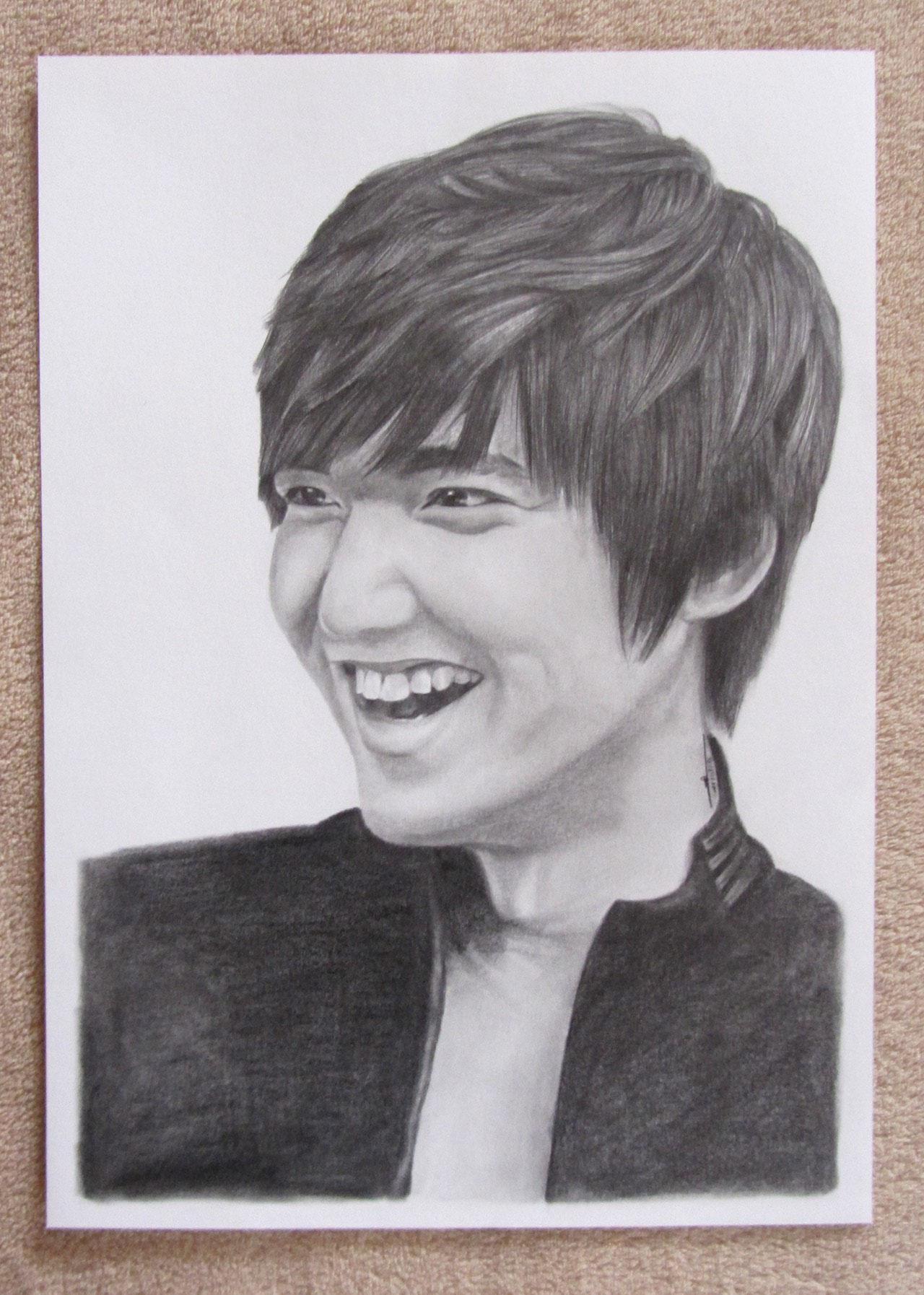 Lee Min Ho - A3 - Crayon