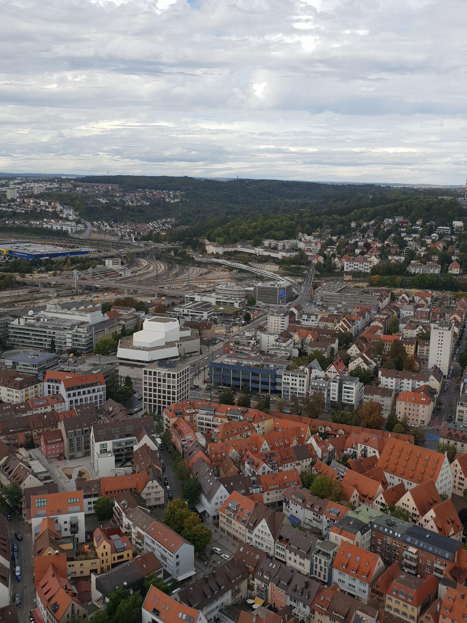 Sehenswertes Ulm von oben