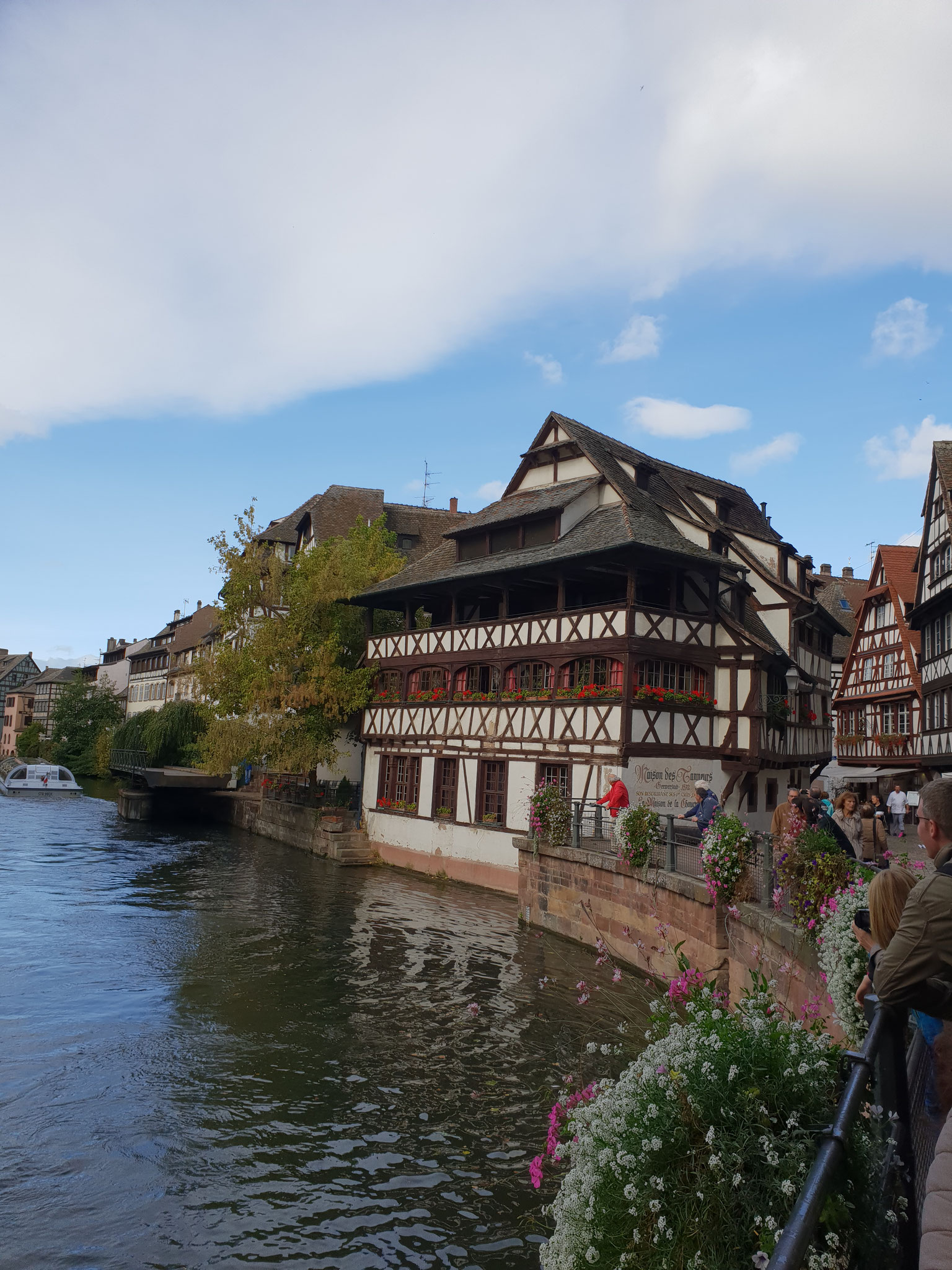 Stimmungsvoll: das Viertel Klein Paris in Straßburg