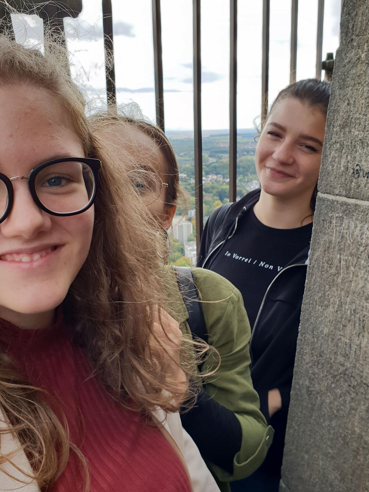Schwindelfreie Turmgängerinnen