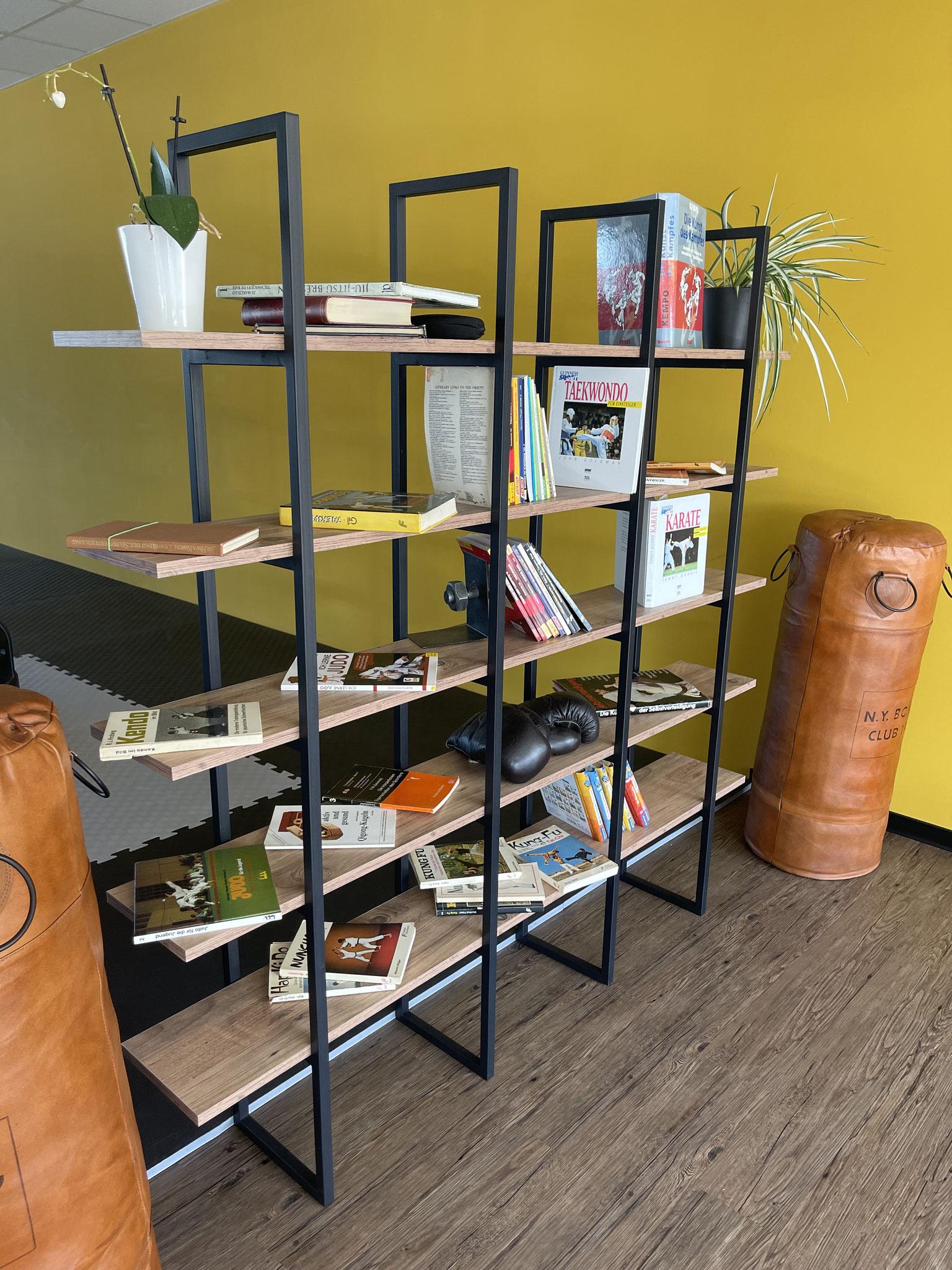 Kleine Bibliothek über Kampfkunst