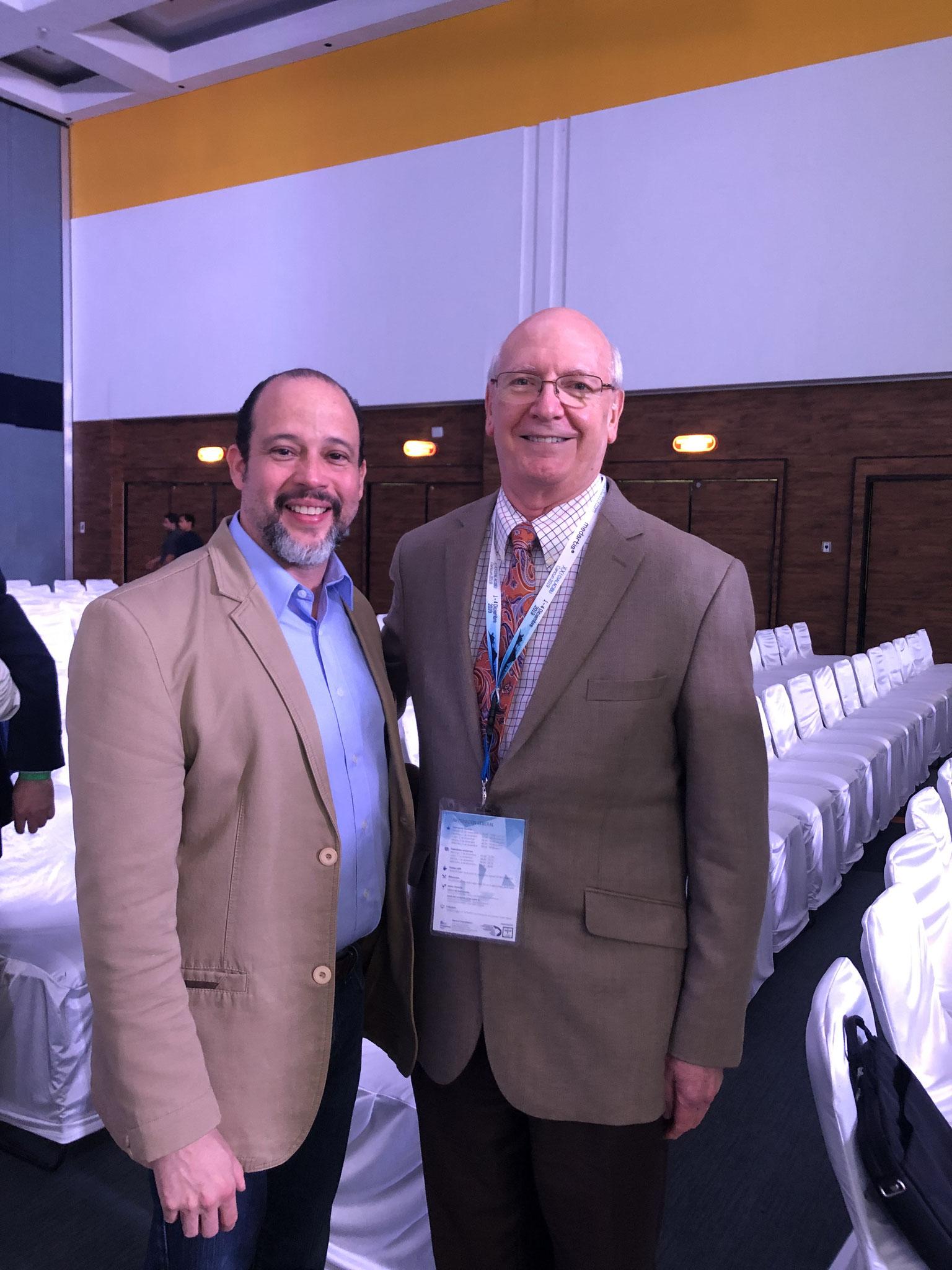 Larry Wolford y Zoilo Nuñez