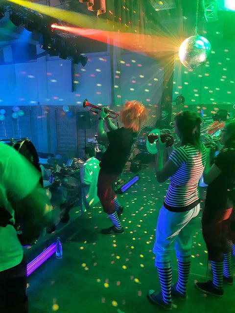 Auftritt beim Landfeuerwehrfrauenball in Wieden.