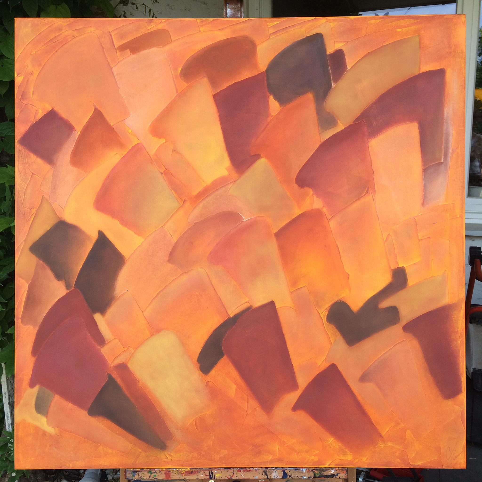 Harmonie - 100 x 100 cm