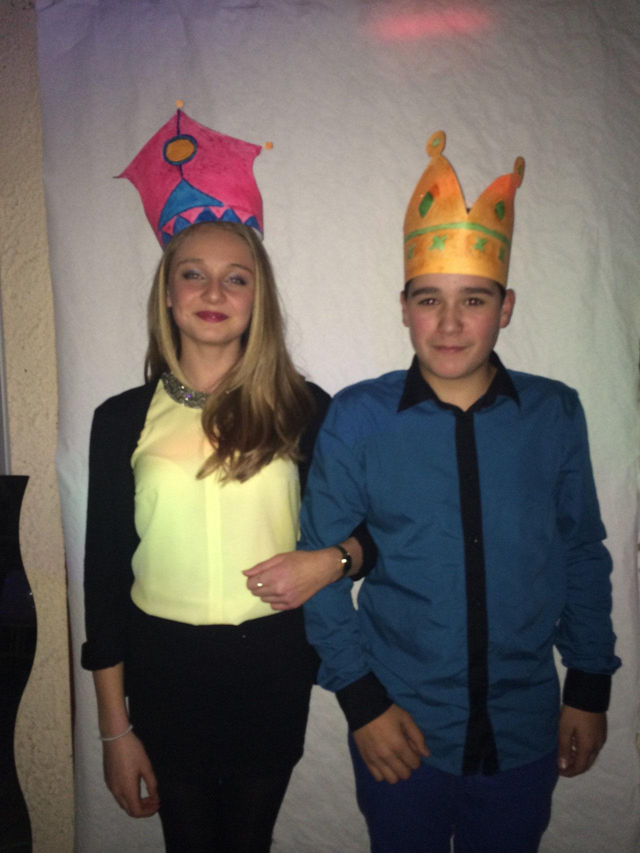 Le roi Stephen et la reine Charlotte