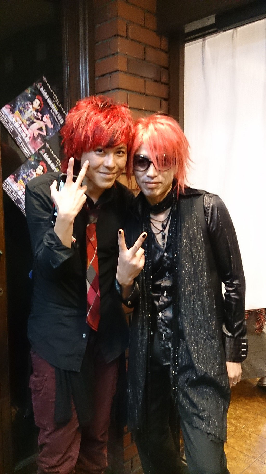 VocalのRYOさんと記念写真(^-^)