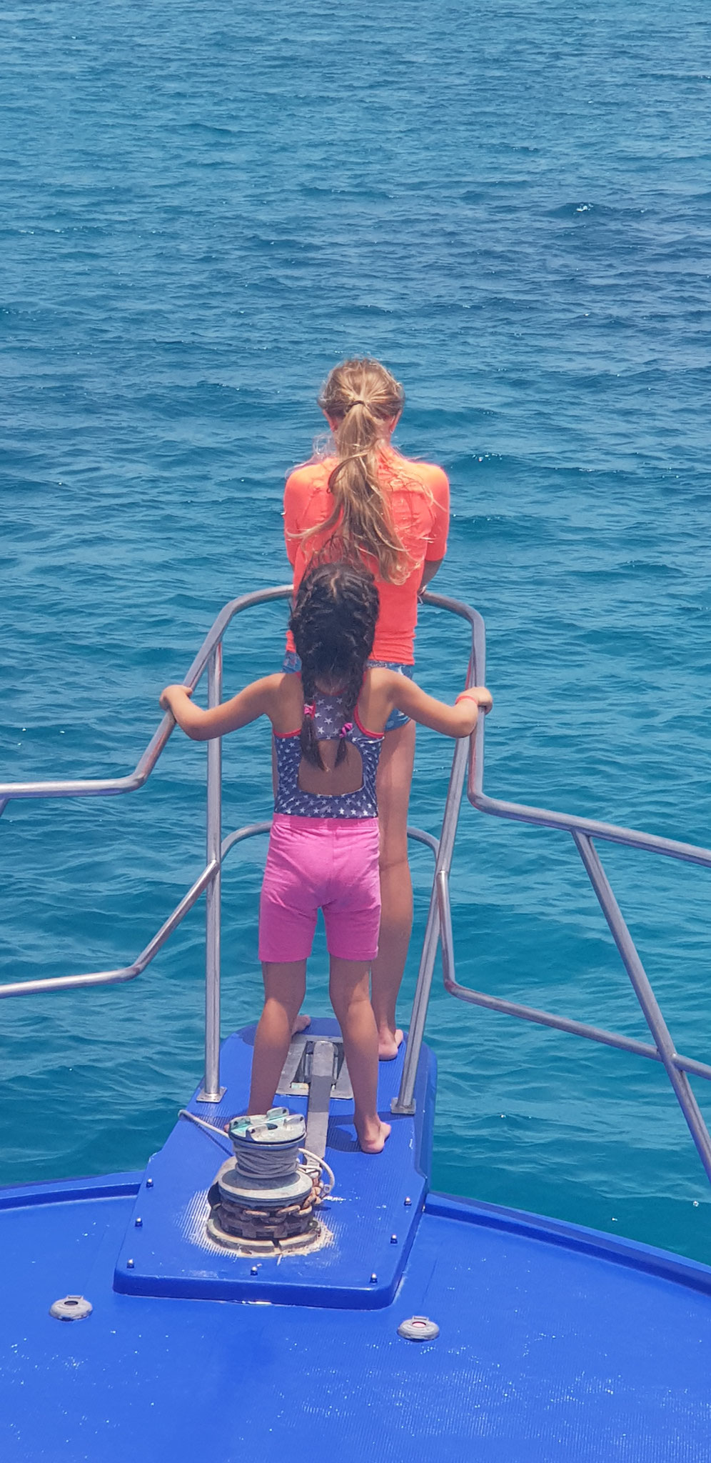 der schönste Platz auf dem Schiff?