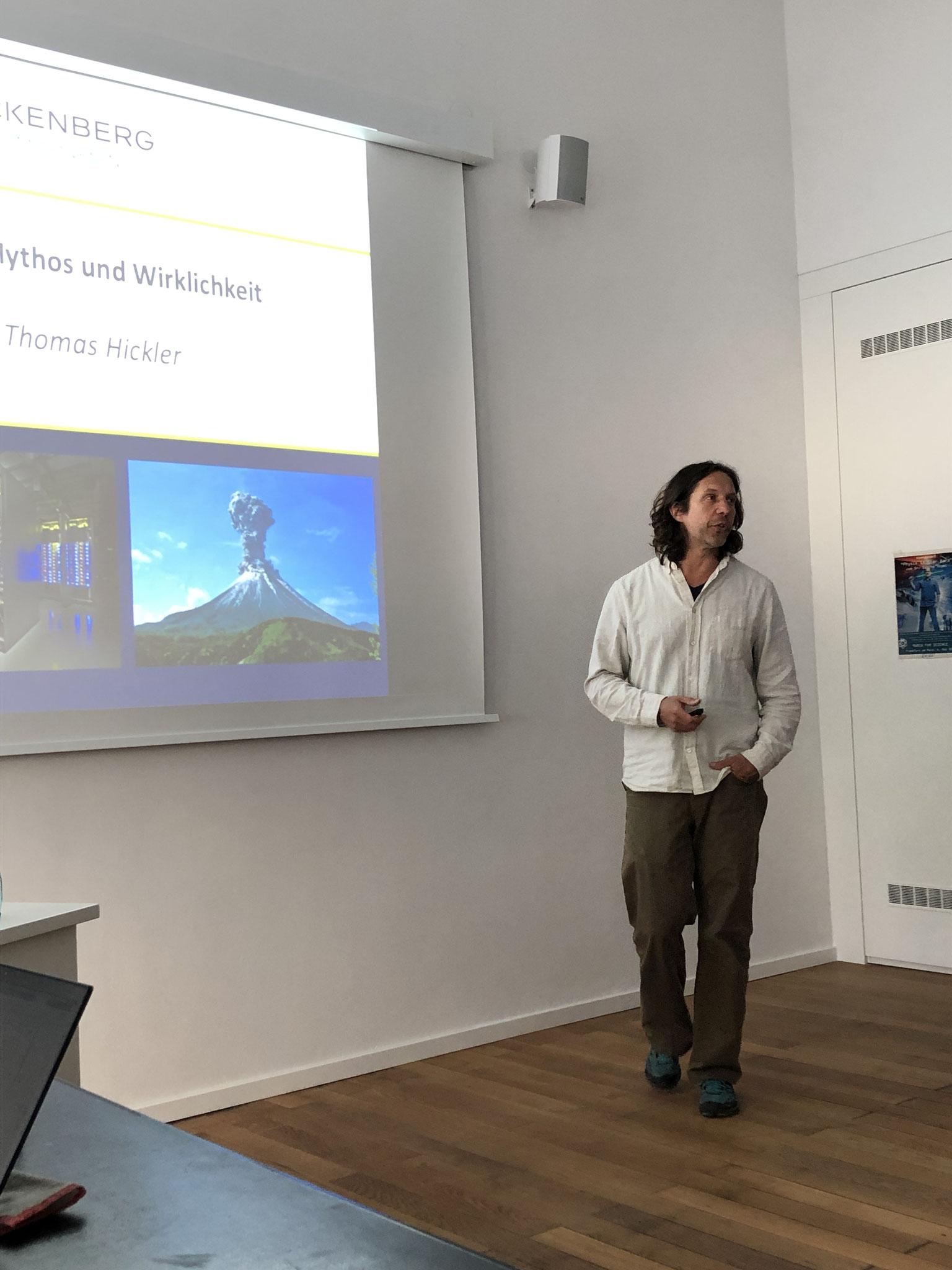 Prof. Dr. Thomas Hickler © Förderverein Senckenberg
