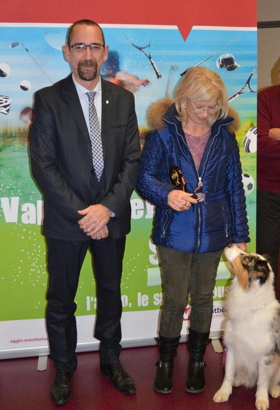 GRAF-BACARD Florence (Club d'Education Canine)