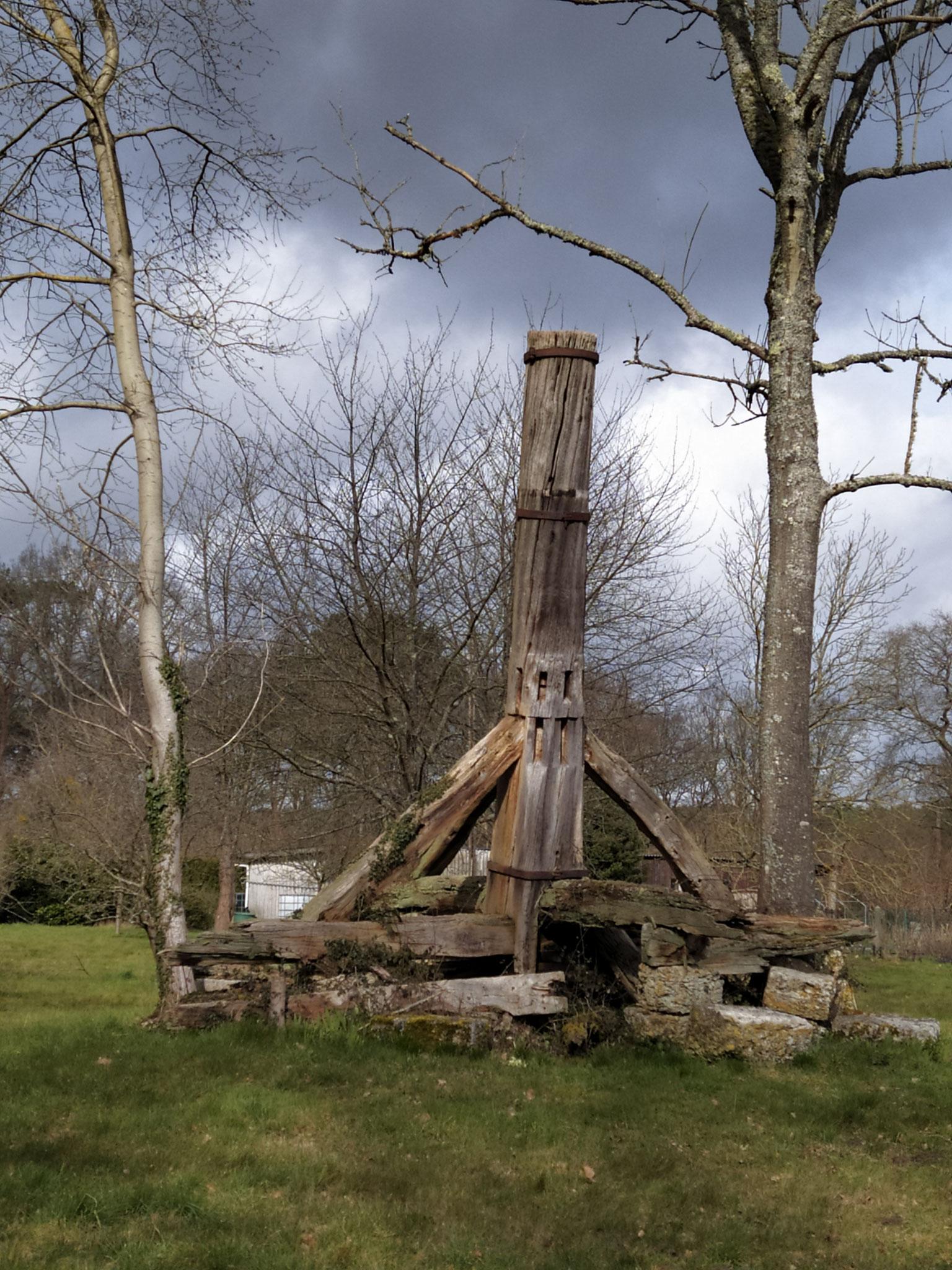 Reste de moulin.