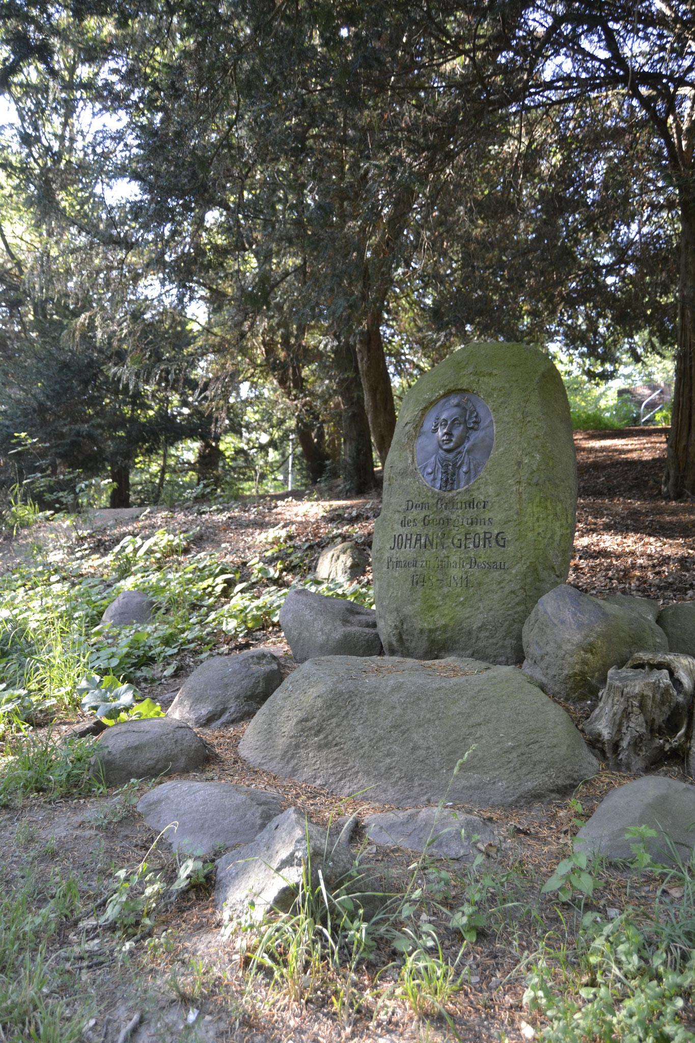 Gedenkstein für Johann Georg
