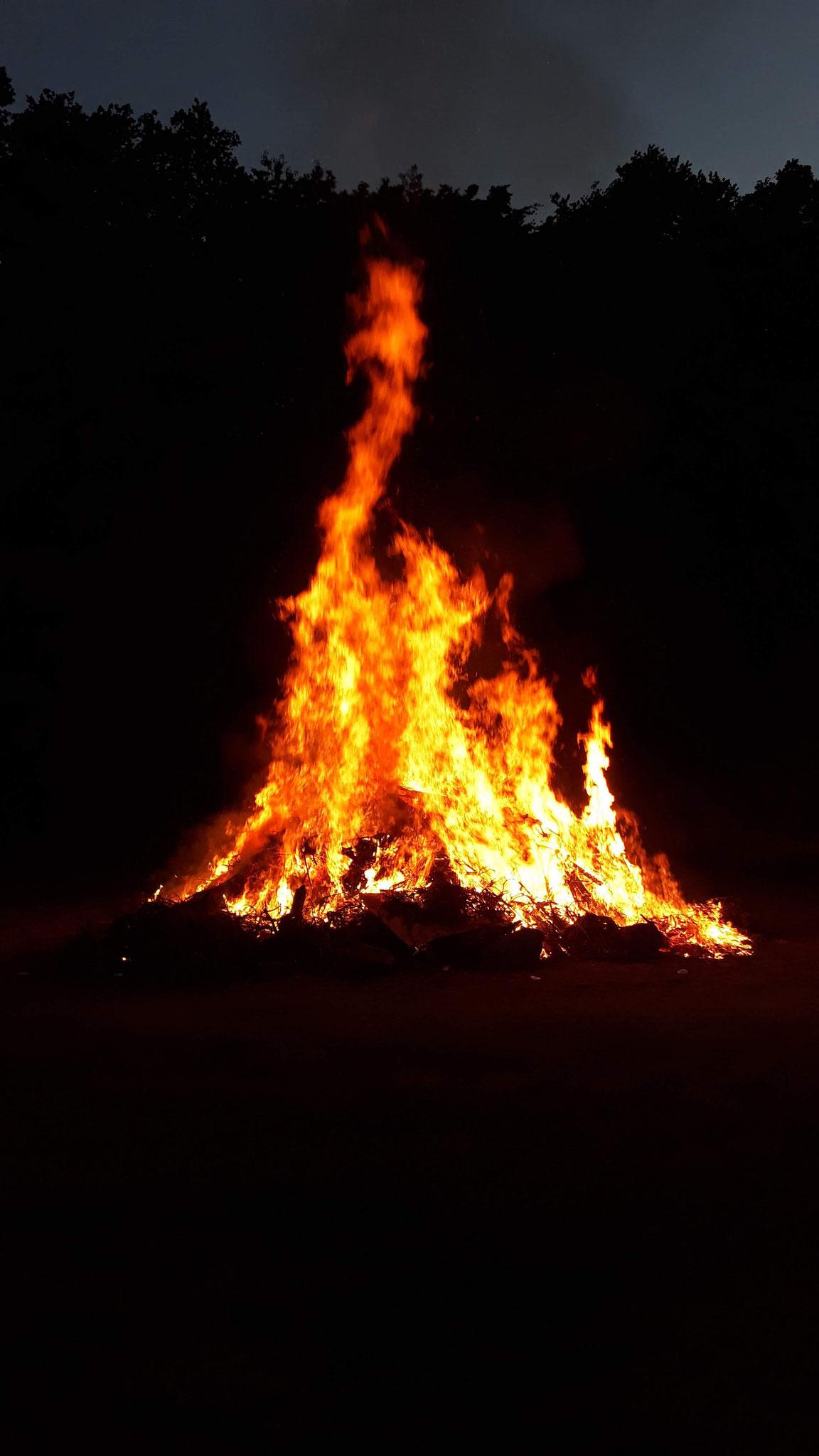 Feuer zum Feuerwehrfest 2019