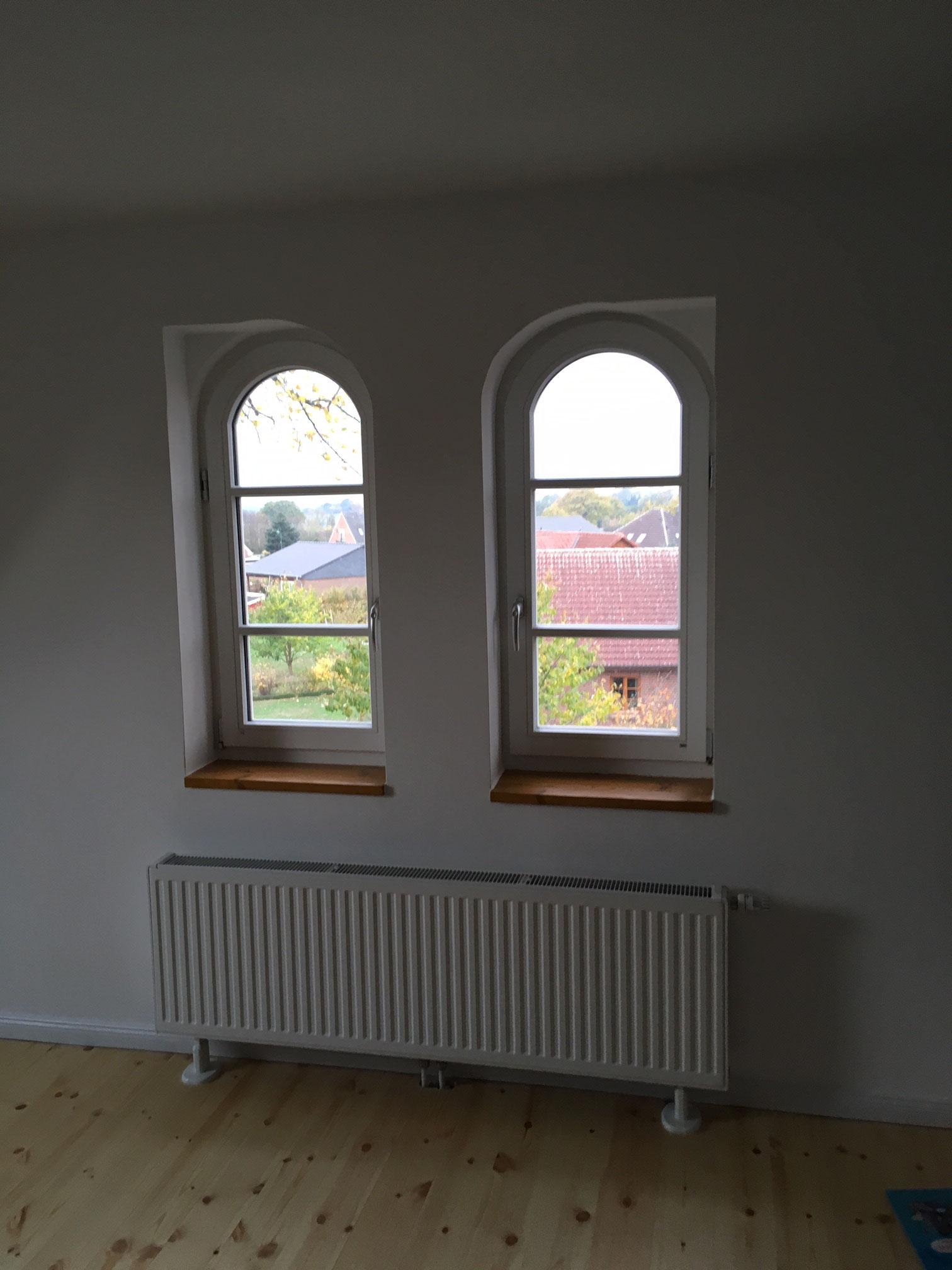 Fenster im ausgebauten Spitzboden