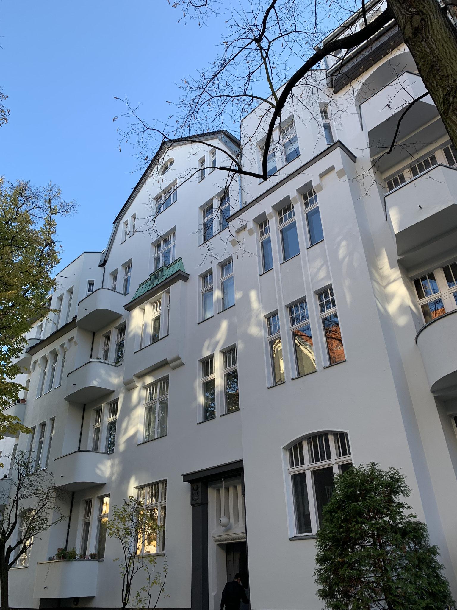Sentastraße 2 - Fassadensanierung