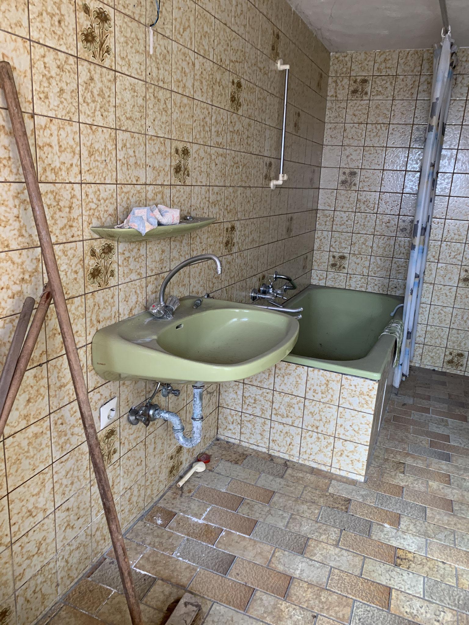 Bad aus den 70iger Jahren im Schmiedegebäude