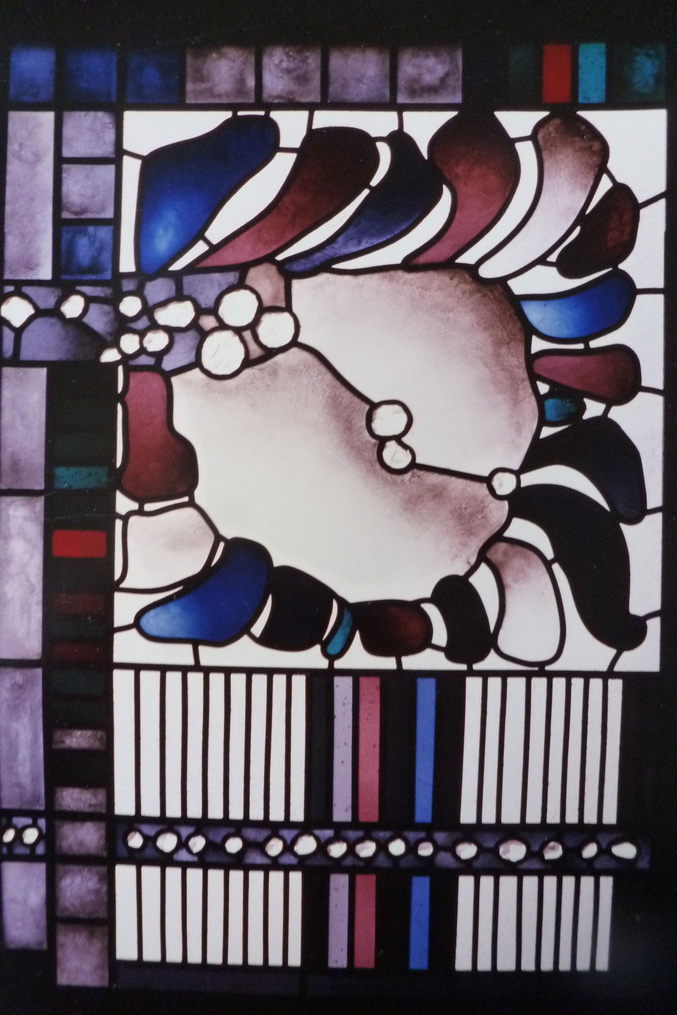 Fenster für Kapelle  des Studentenheims, Hiroshima 1988