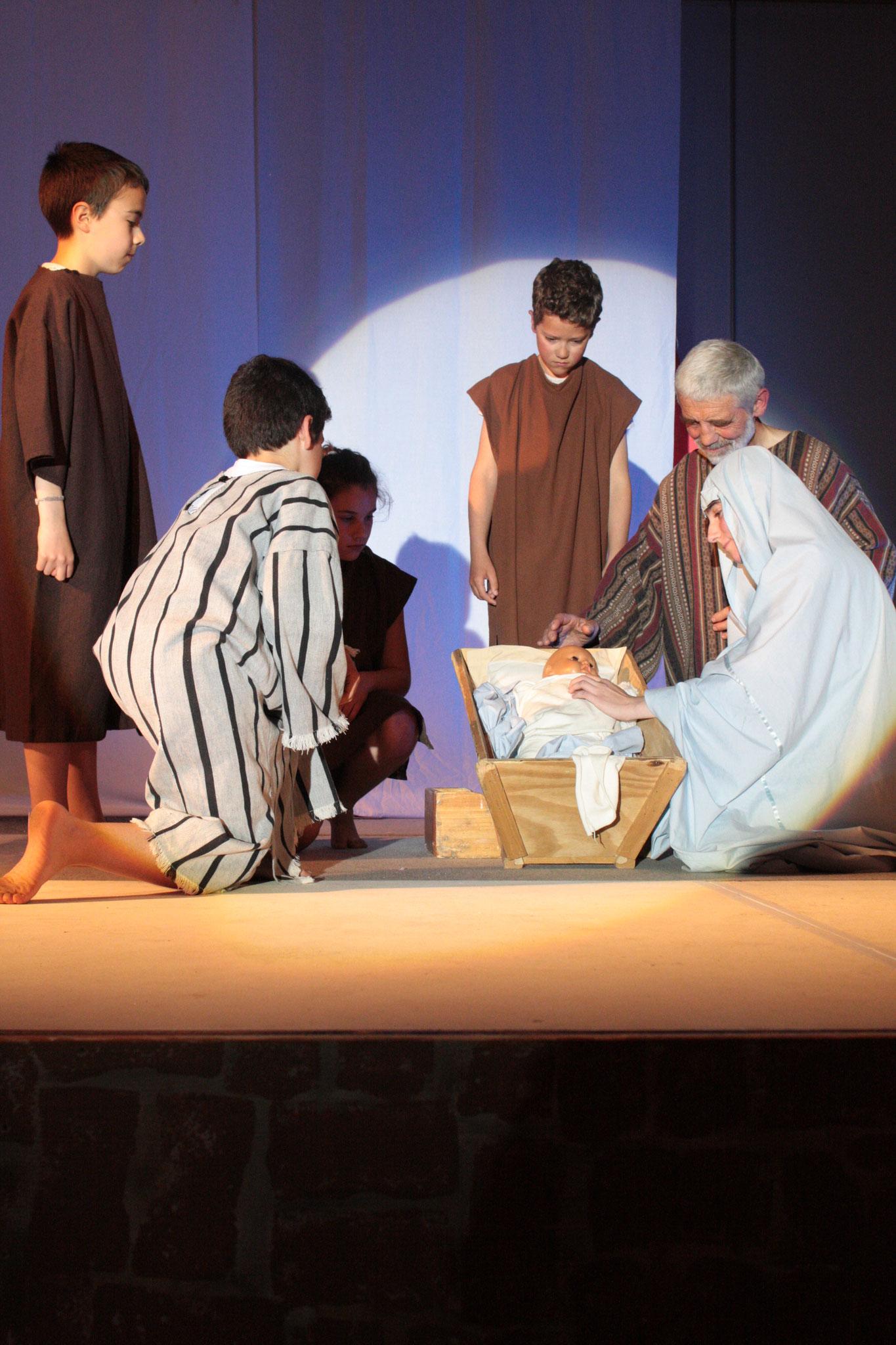 La naissance de Jésus- photo JDR