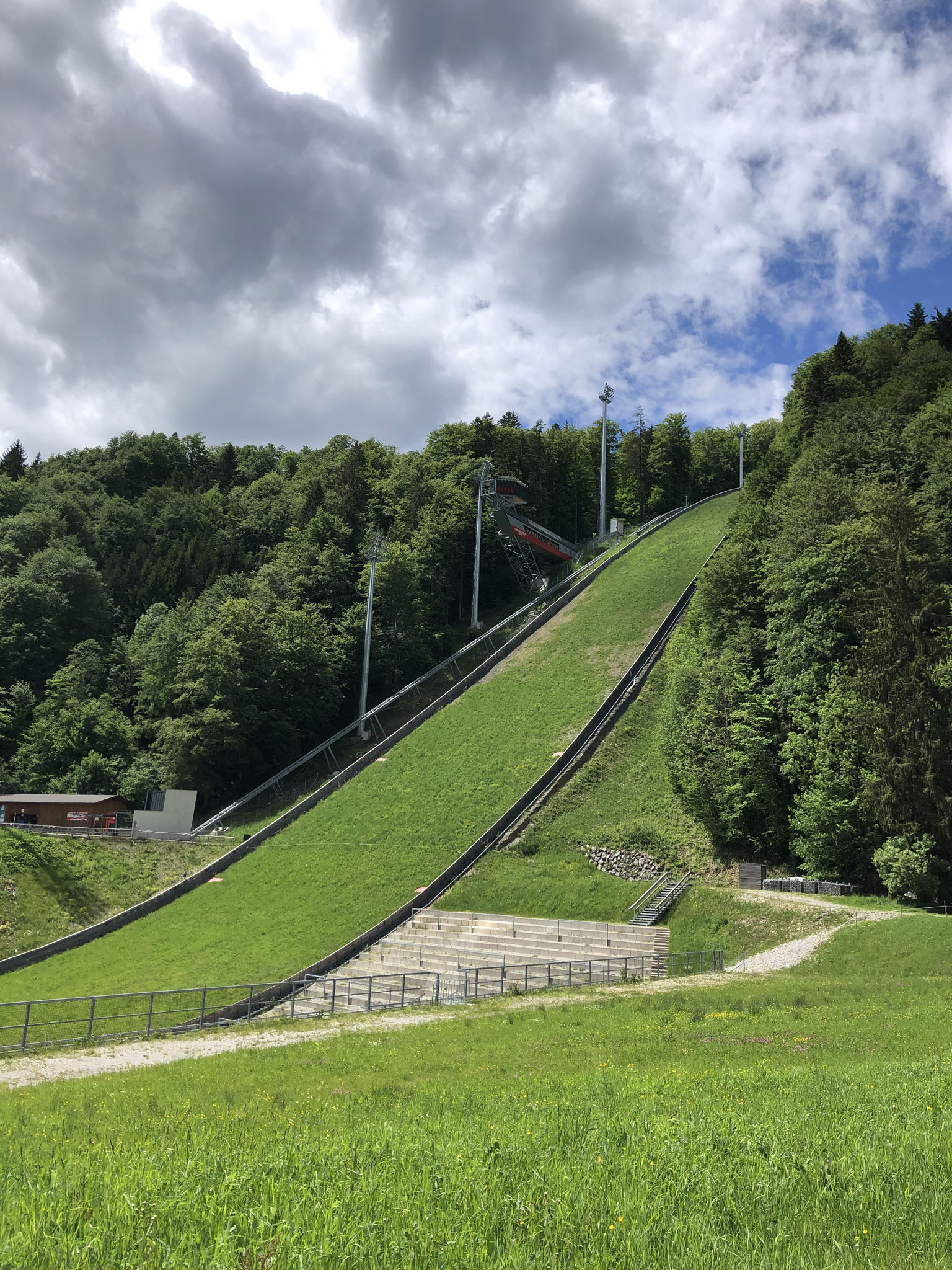 Heini Klopfer Skiflug Schanze