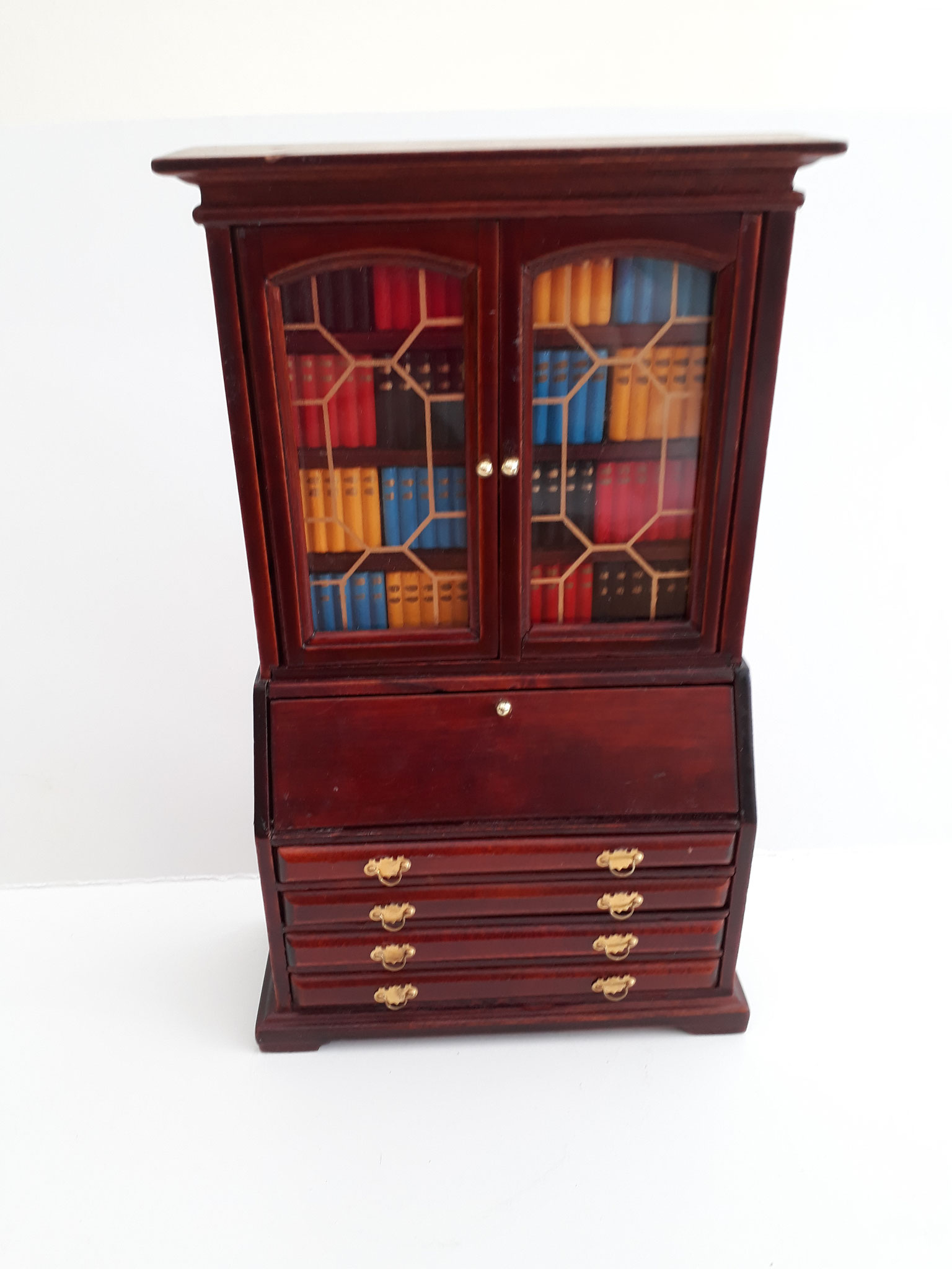 Mahogany Bookcase Unit