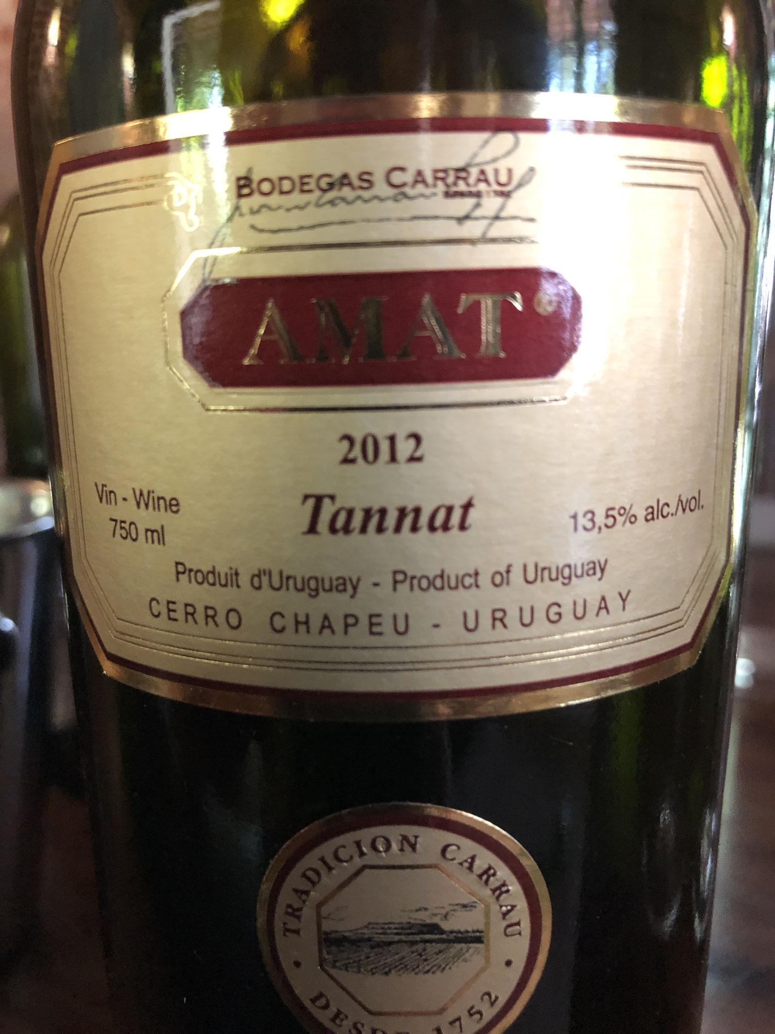 staat te lang open: gemaderiseerd :geoxideerd  (wijngaard in Rivera, na herverdeling binnen familie sinds 2017 cerro chapeu