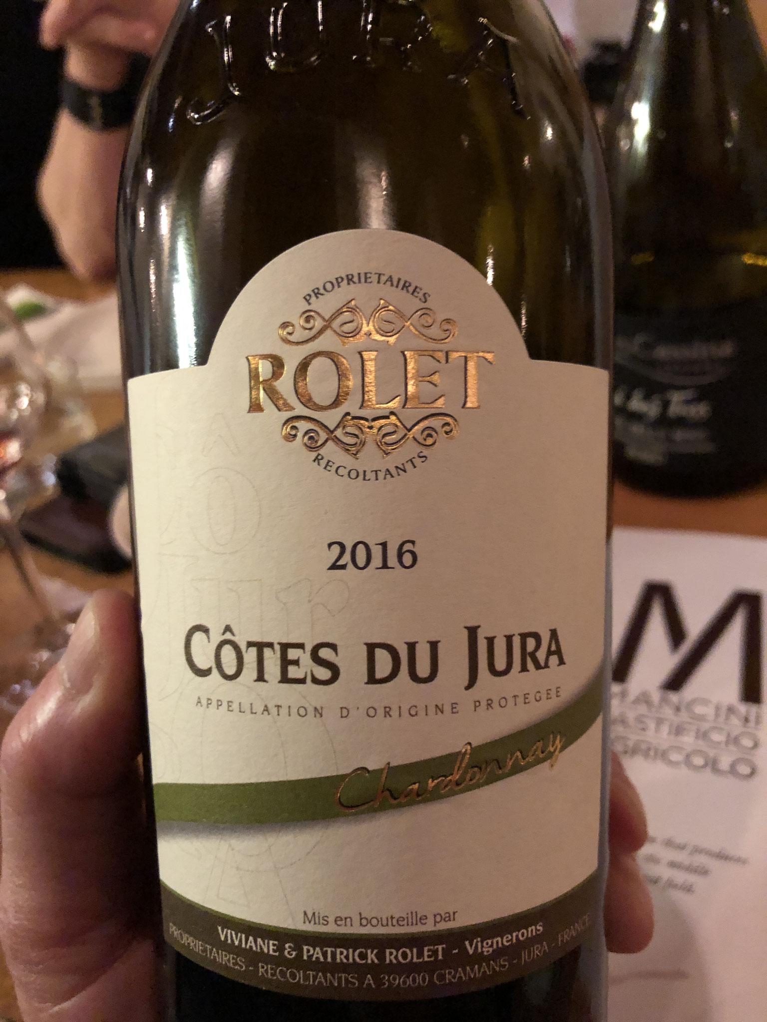 chardonnay uit de Jura