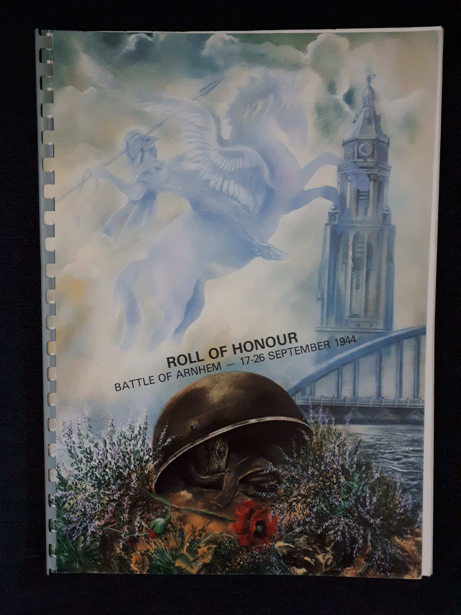 Roll of Honour, Battle of Arnhem, September 1987 (2nd Edition) (collection P. Reinders)