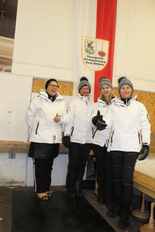 8. ESC Jochberg - Vreni Groder,  Margret Landmann, Marianne  Luxner, Christl Krimbacher