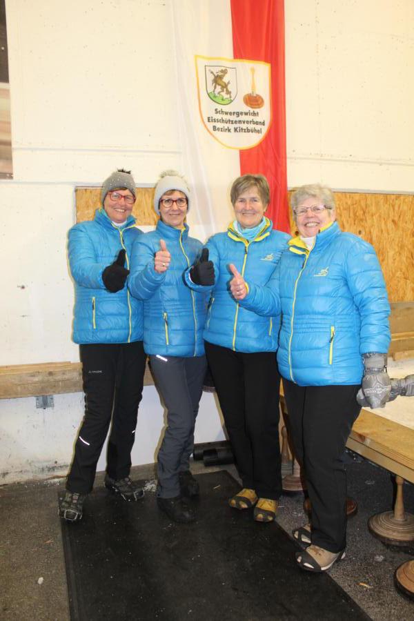 7. EV Fieberbrunn II -  Lisi Foidl, Manuela Trixl, Lisi Astner, Maria Bucher