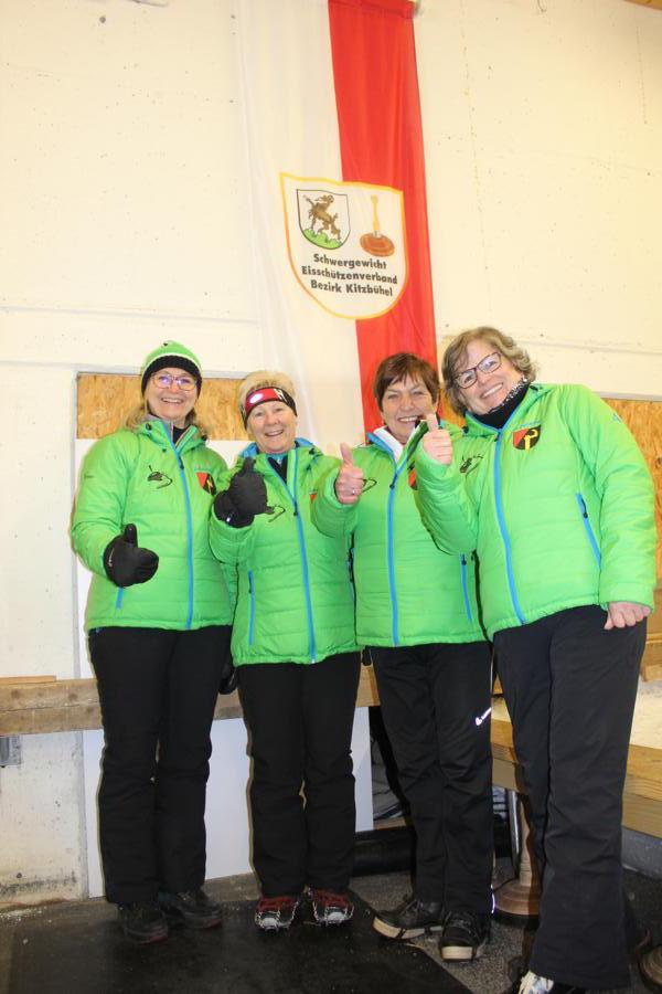 5. EC Oberndorf I - Janet Rosenkranz, Monika Friedl, Irmi Aschaber, Herta Stöckl