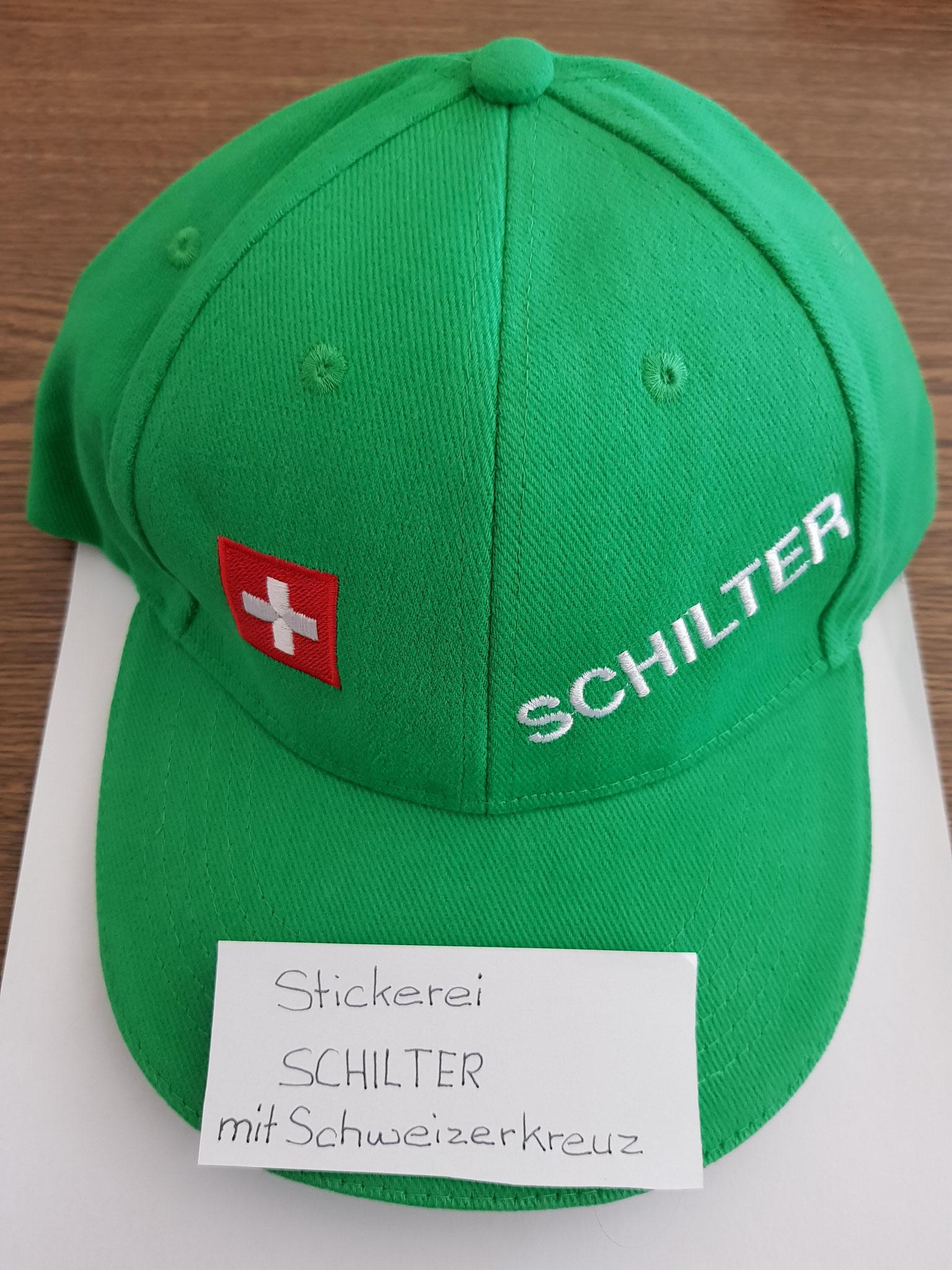 SCHILTER CAP mit Schweizerkreuz