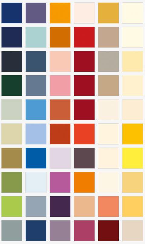 Farbvielfalt nach RAL