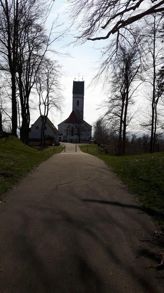 Weg zur Bussenkirche